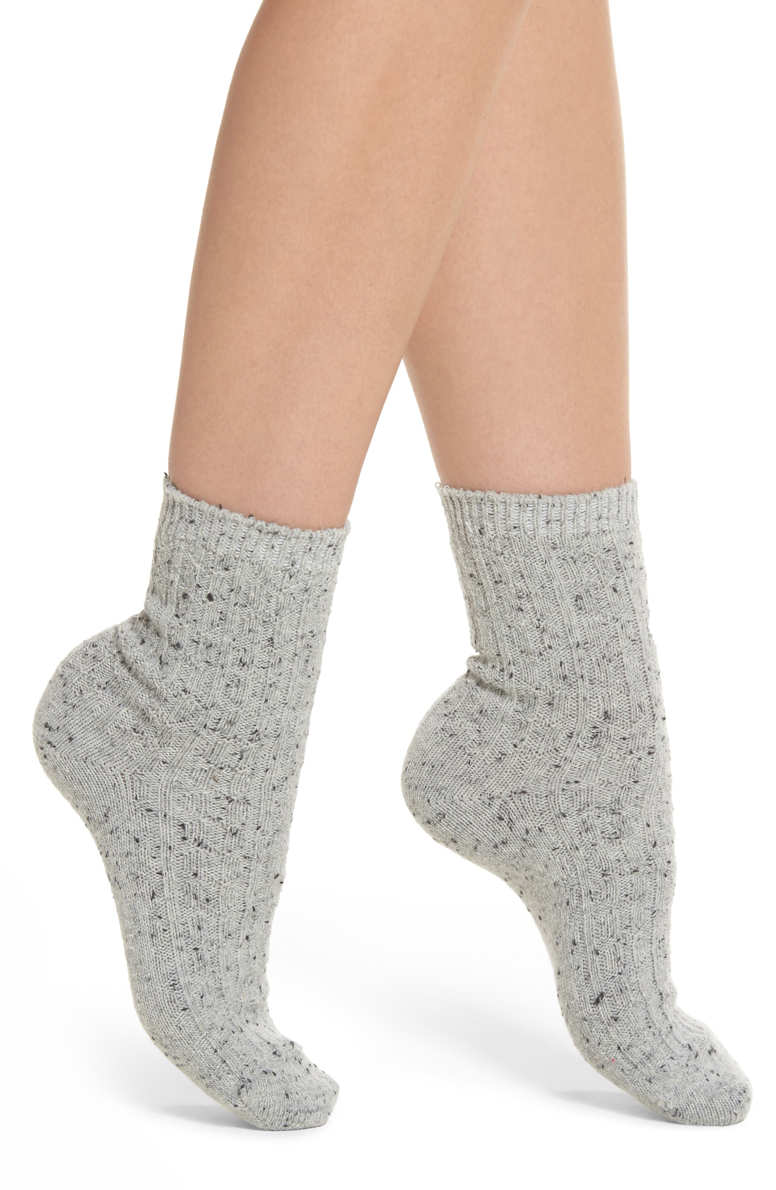 Treasure & Bond Neps Ankle Crew Socks