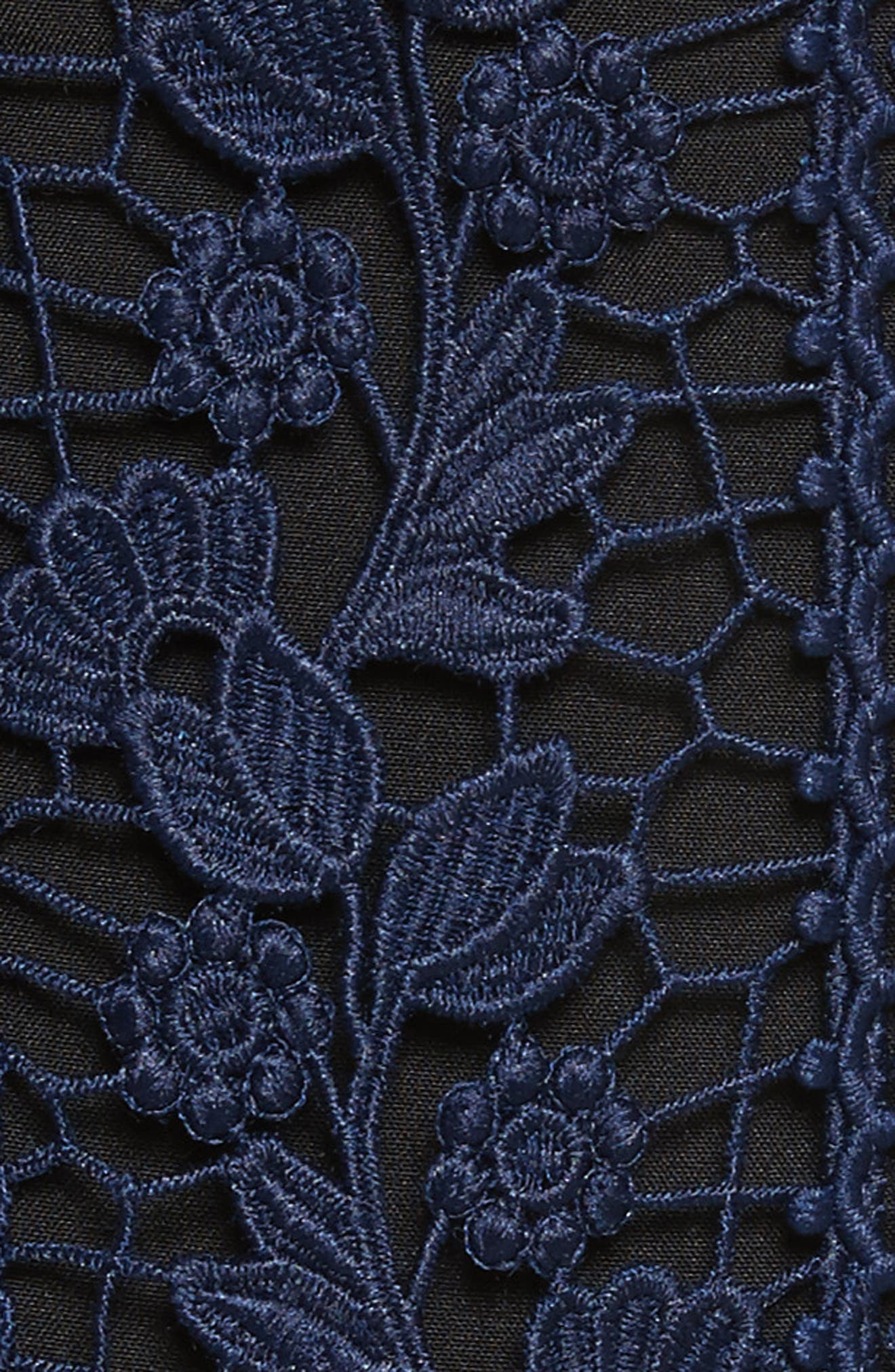 Bellis Lace Dress,                             Alternate thumbnail 5, color,                             Blue