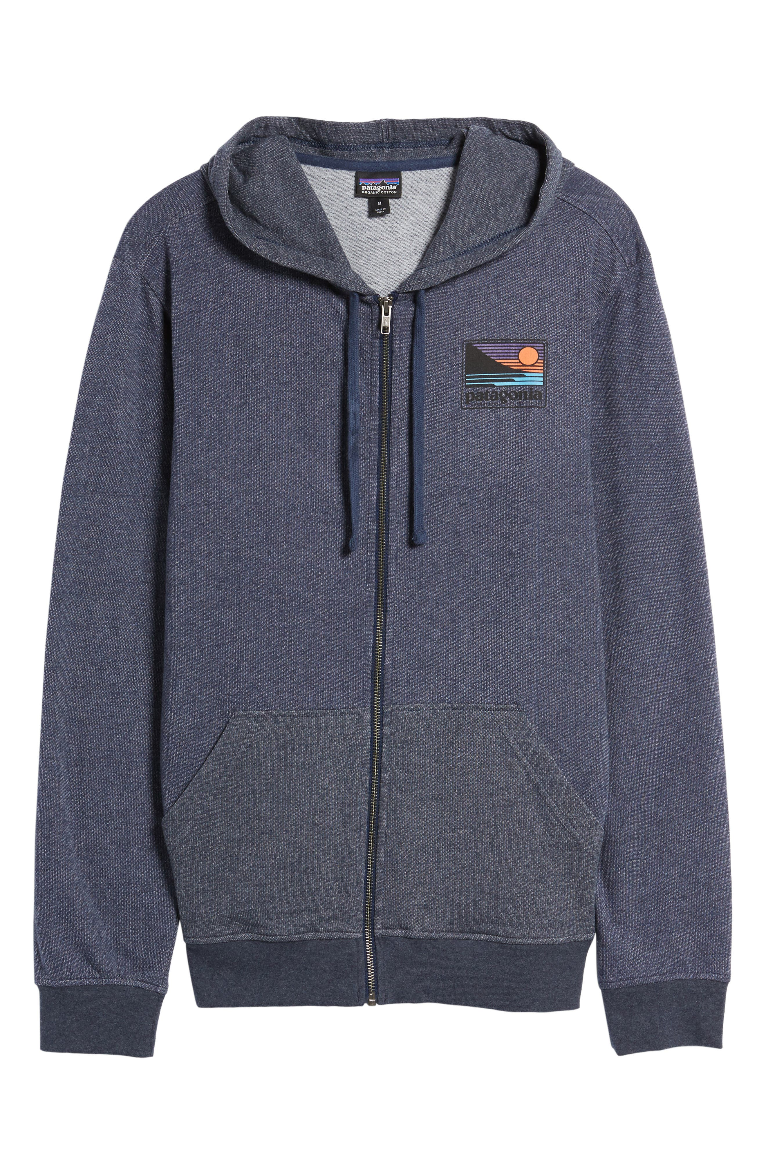 Alternate Image 6  - Patagonia Up & Out Lightweight Zip Hoodie