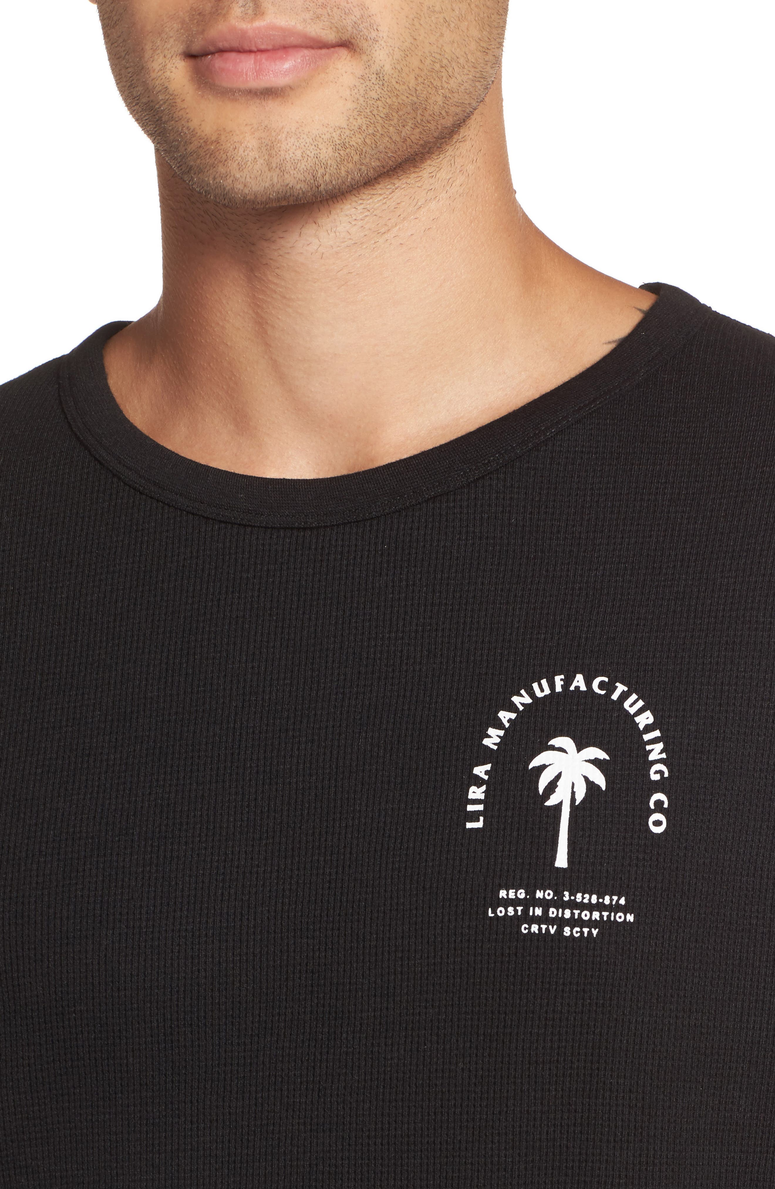Alternate Image 4  - Lira Clothing Cochino Thermal T-shirt