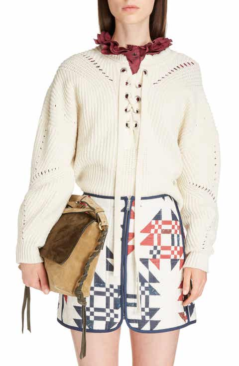 Isabel Marant Laley Cotton & Wool Blend Sweater