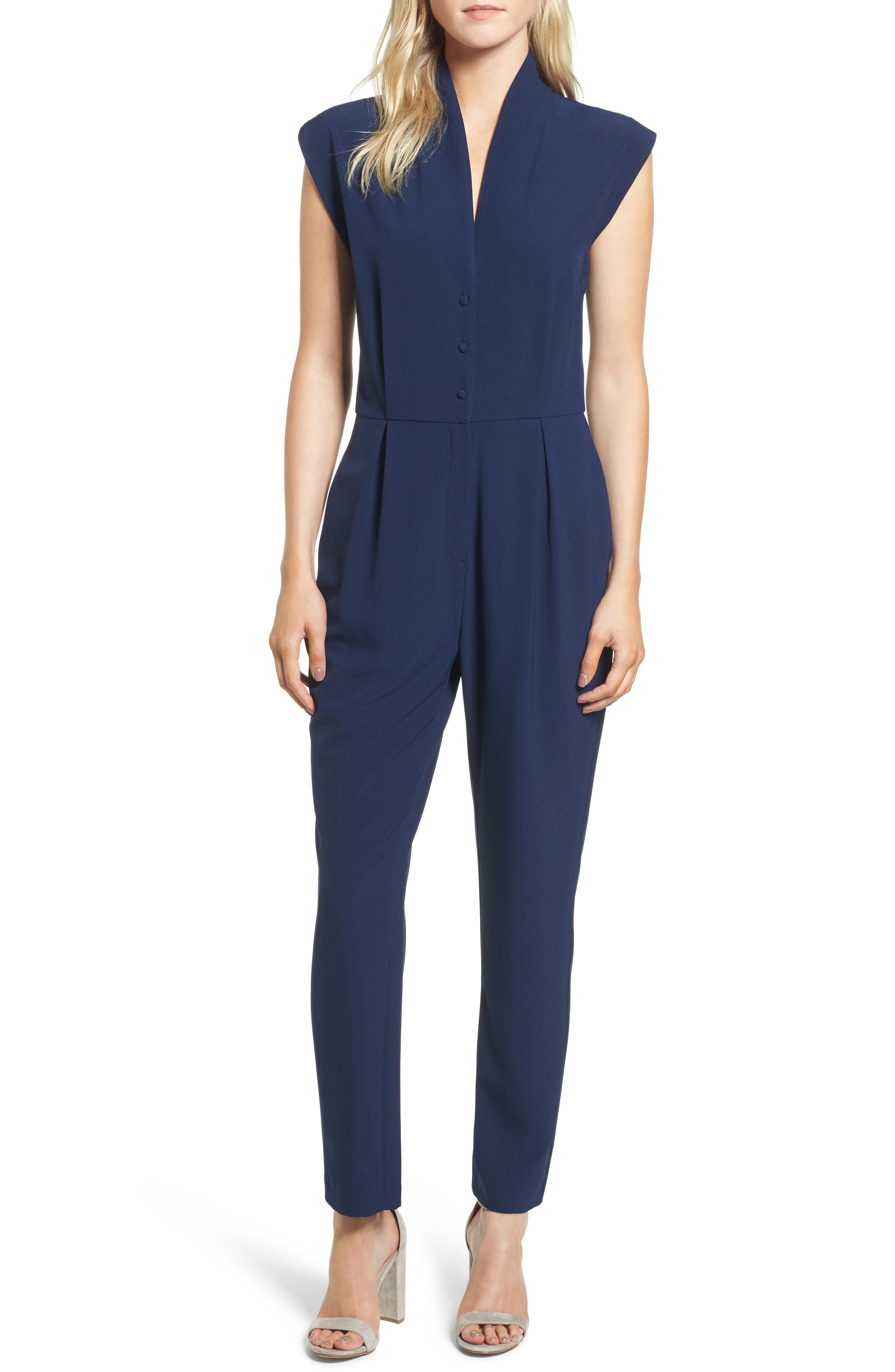 Main Image - cupcakes and cashmere Hanna Jumpsuit