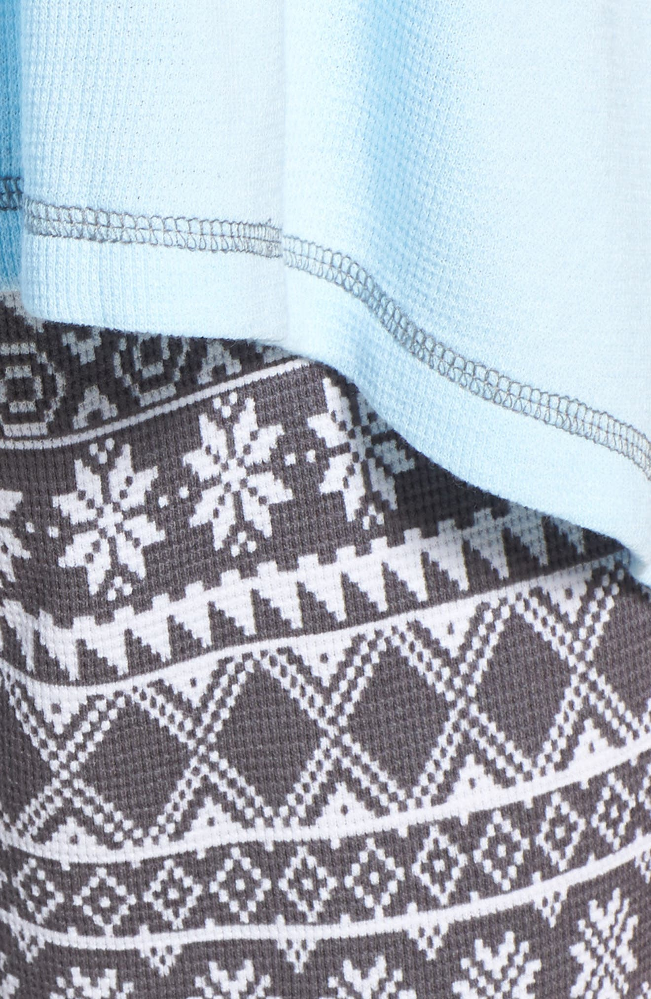 Thermal Pajamas,                             Alternate thumbnail 6, color,                             Grey