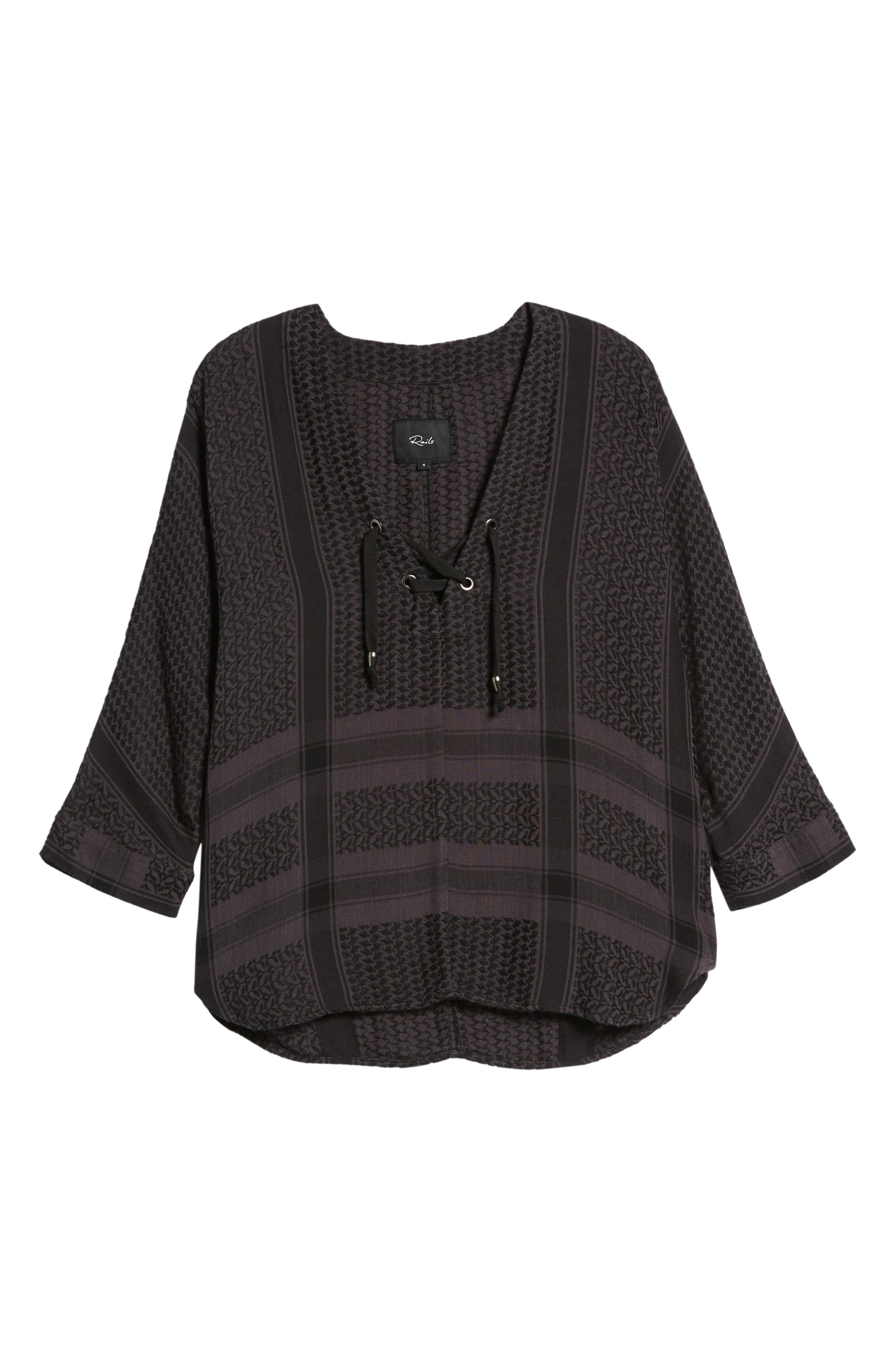 Alternate Image 6  - Rails Lily Pullover Blouse