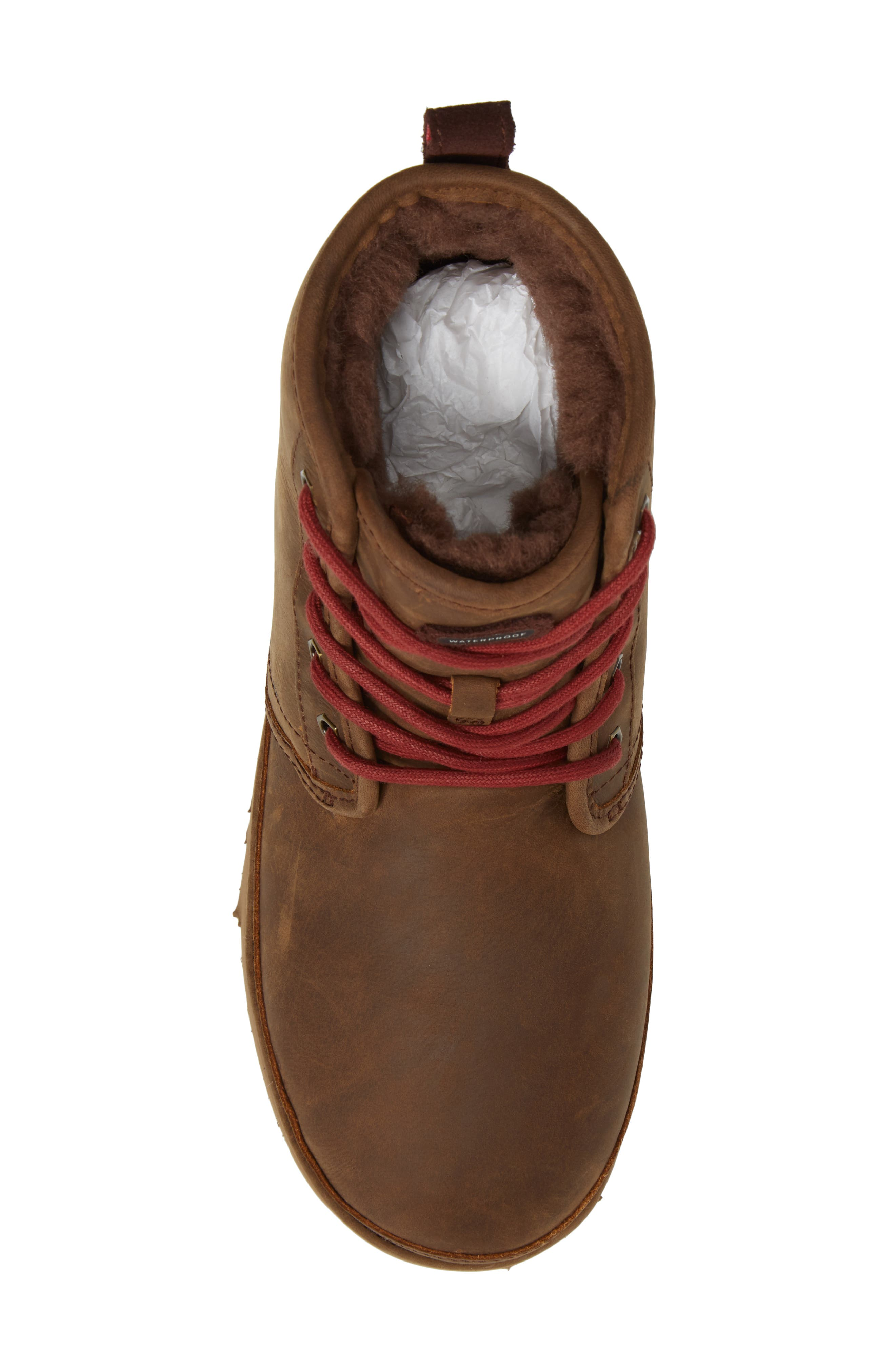 Harkley Plain Toe Boot,                             Alternate thumbnail 5, color,                             Grizzly