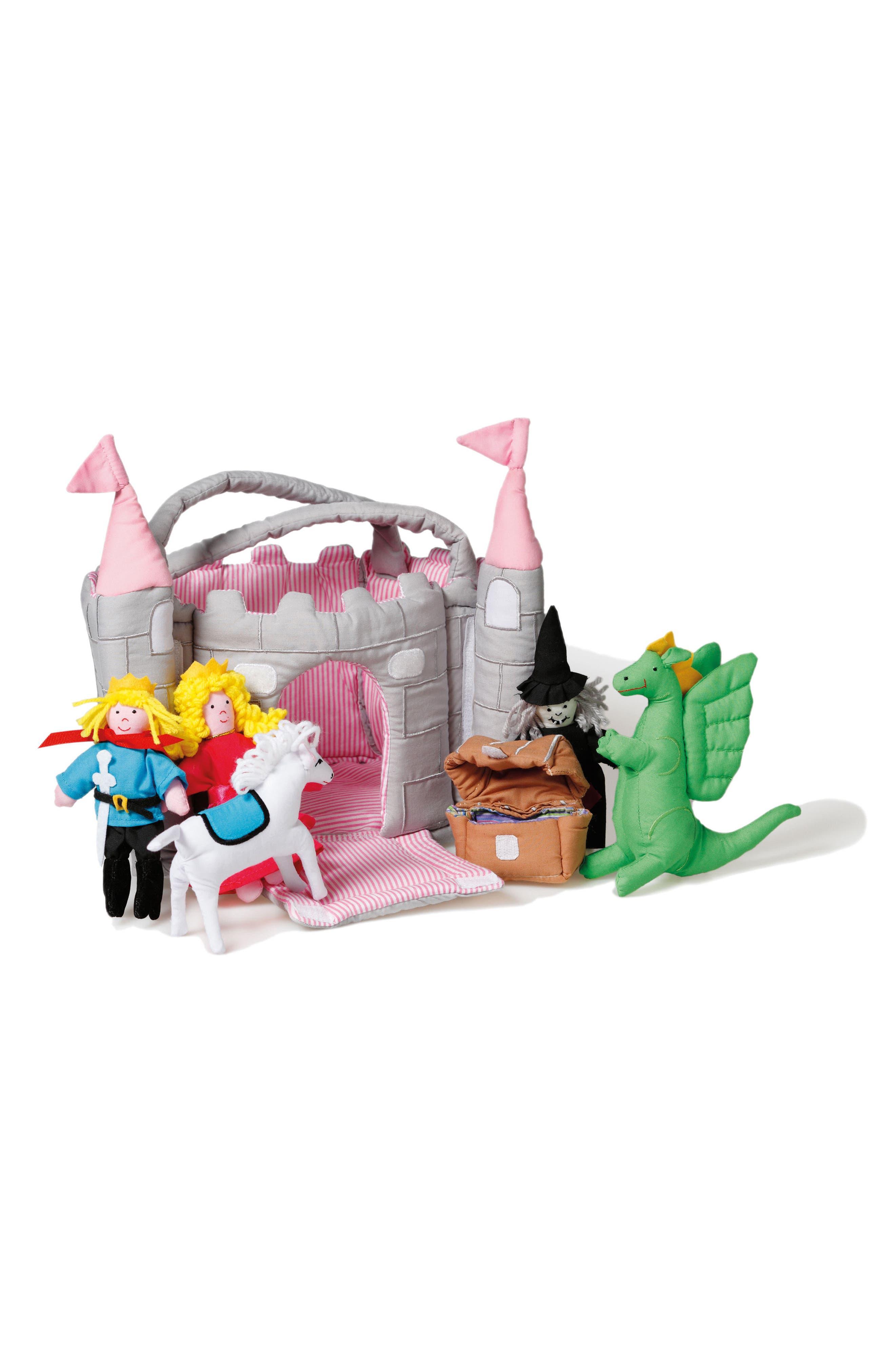 Main Image - oskar&ellen Pink Towers Castle Play Set