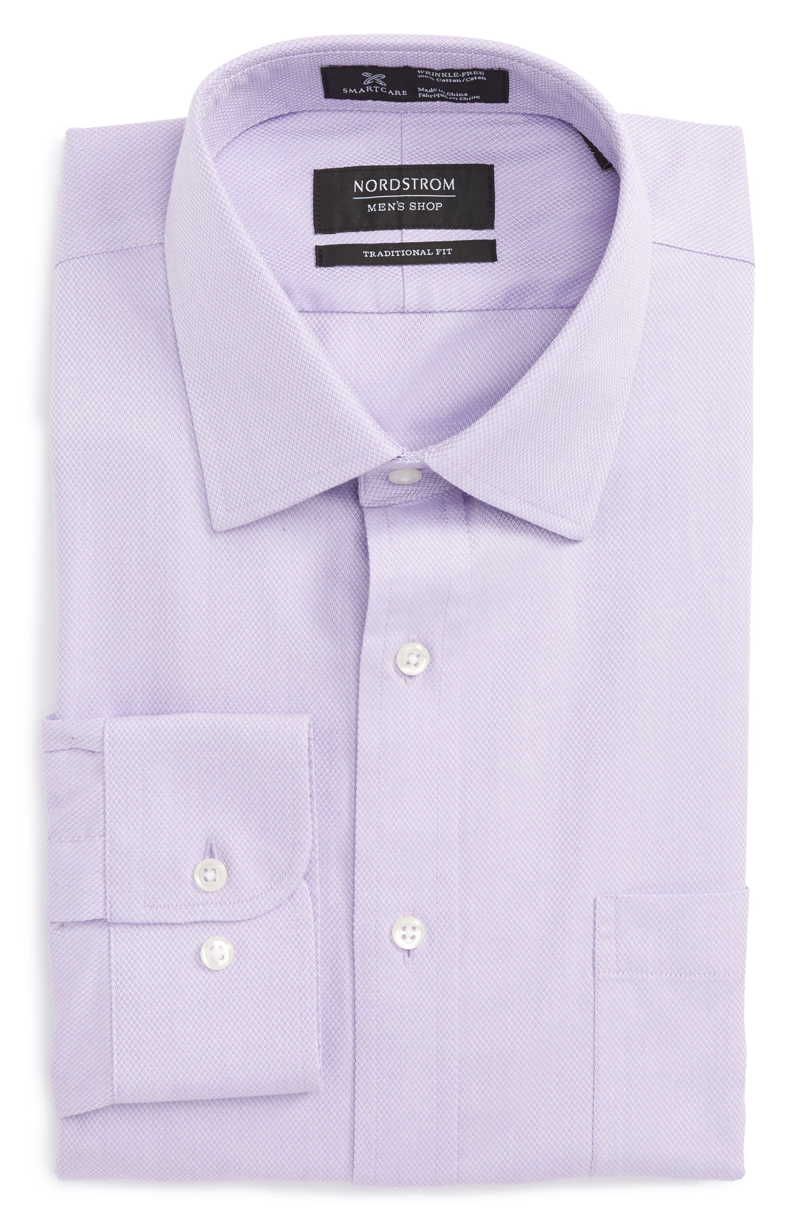 Alternate Image 1 Selected - Nordstrom Men's Shop Smartcare™ Traditional Fit Solid Dress Shirt