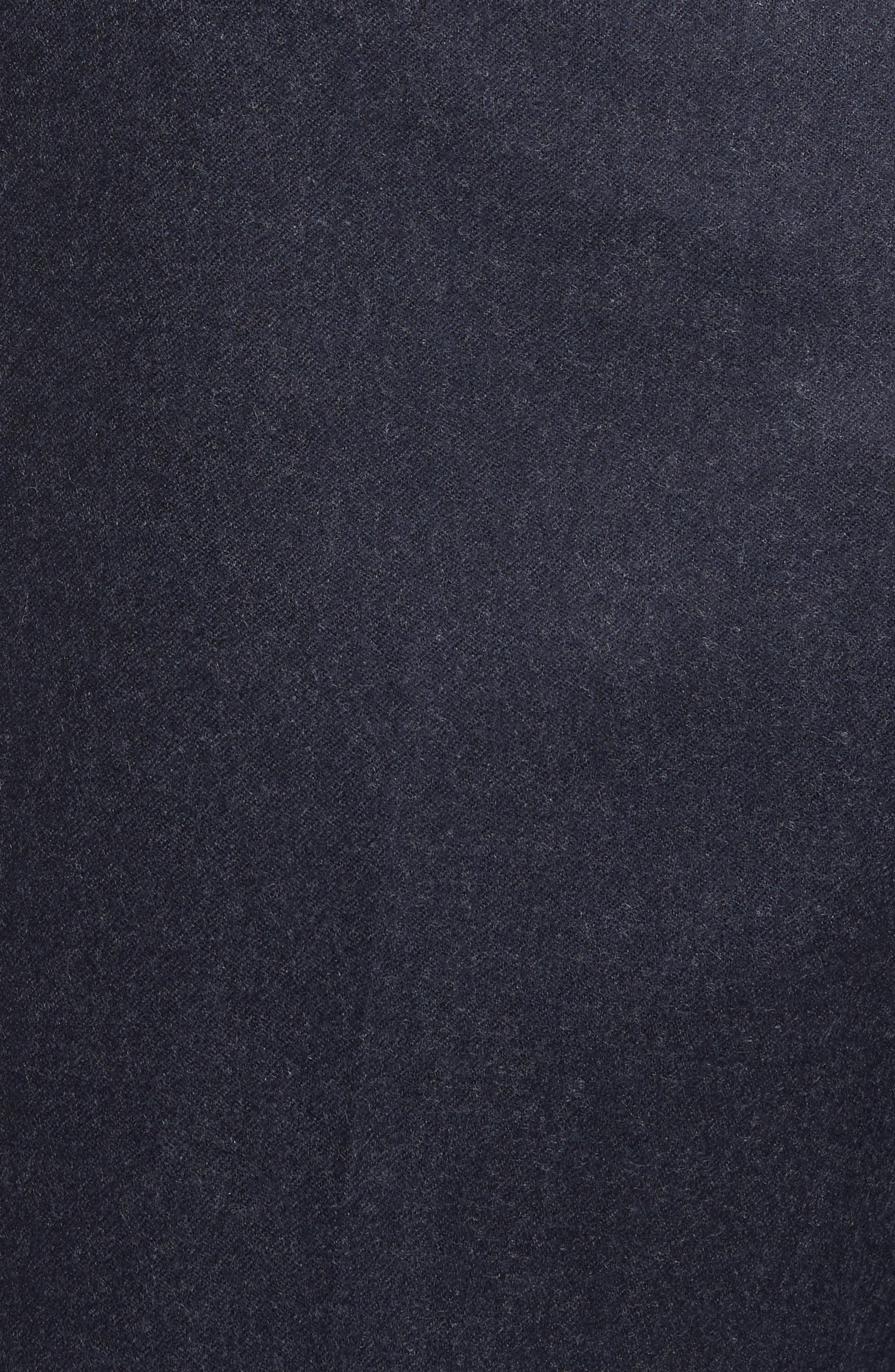 Alternate Image 2  - Zanella Devon Flat Front Solid Wool Trousers
