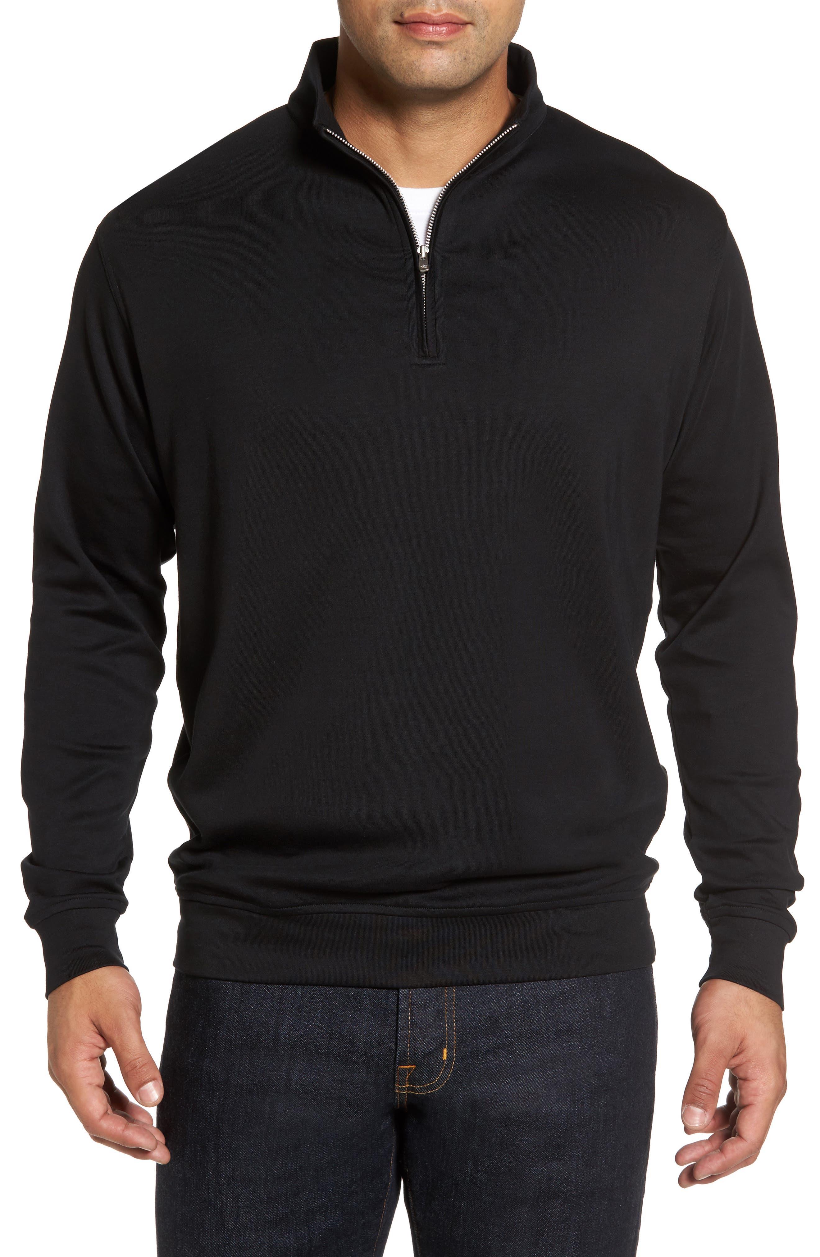 Main Image - Peter Millar Quarter Zip Pullover