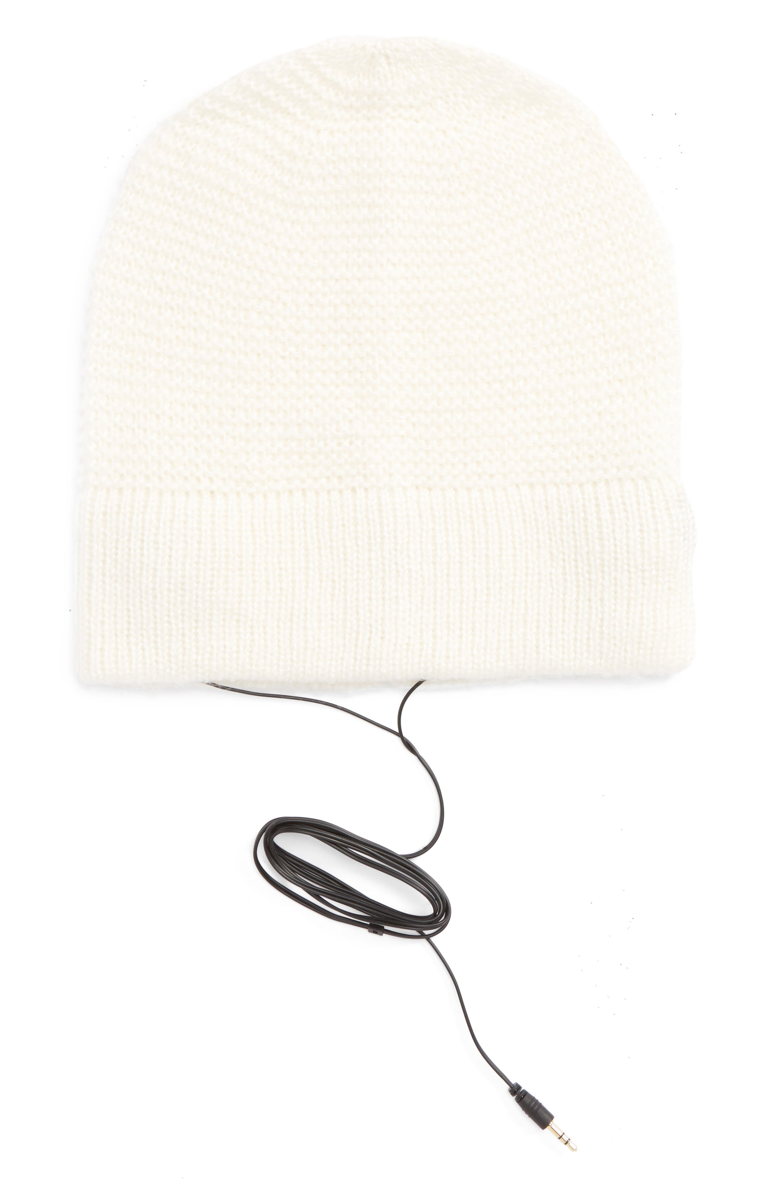Rebecca Minkoff Slouchy Beanie with Headphones