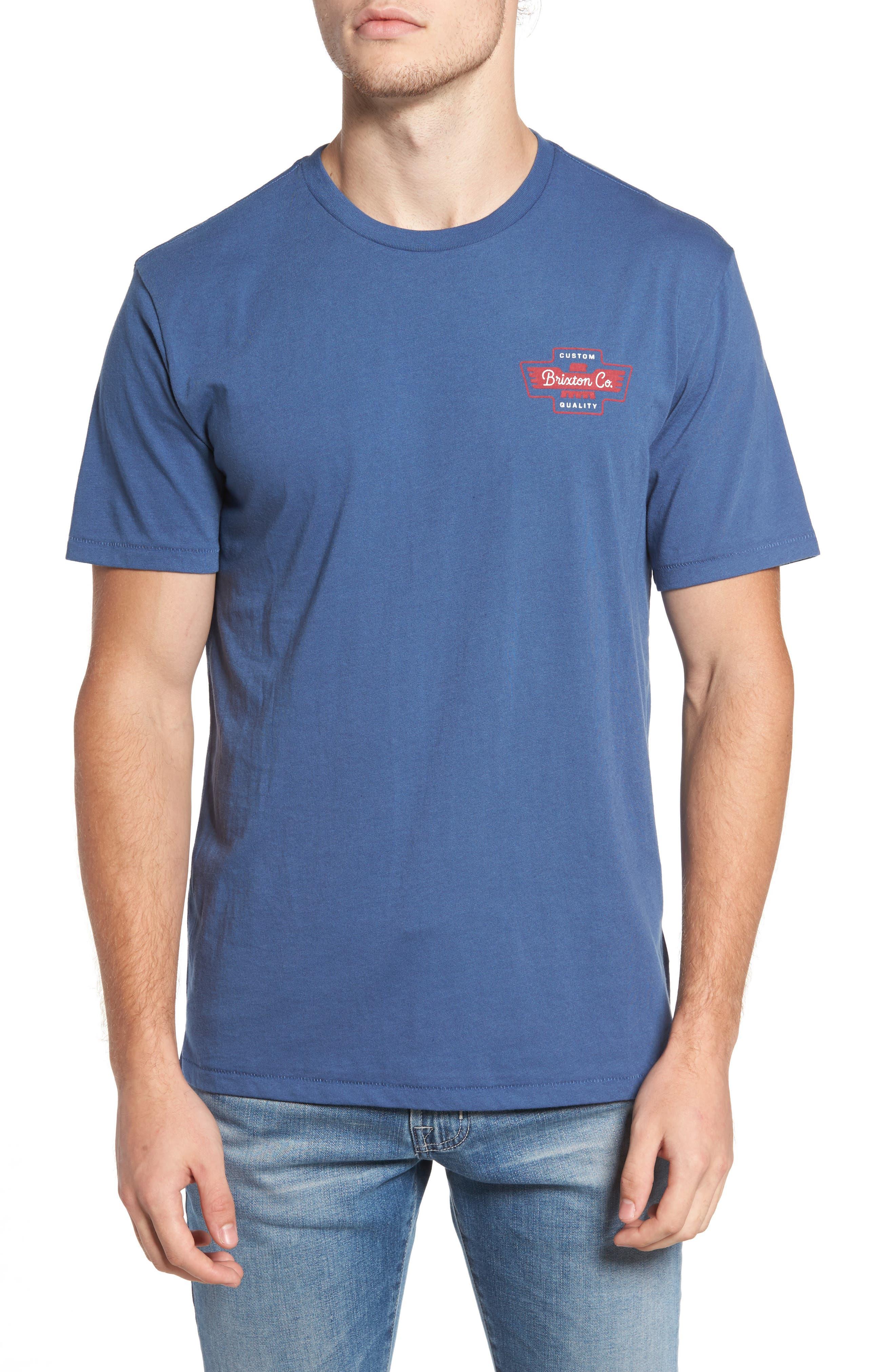 Brixton Federal Premium Graphic T-Shirt