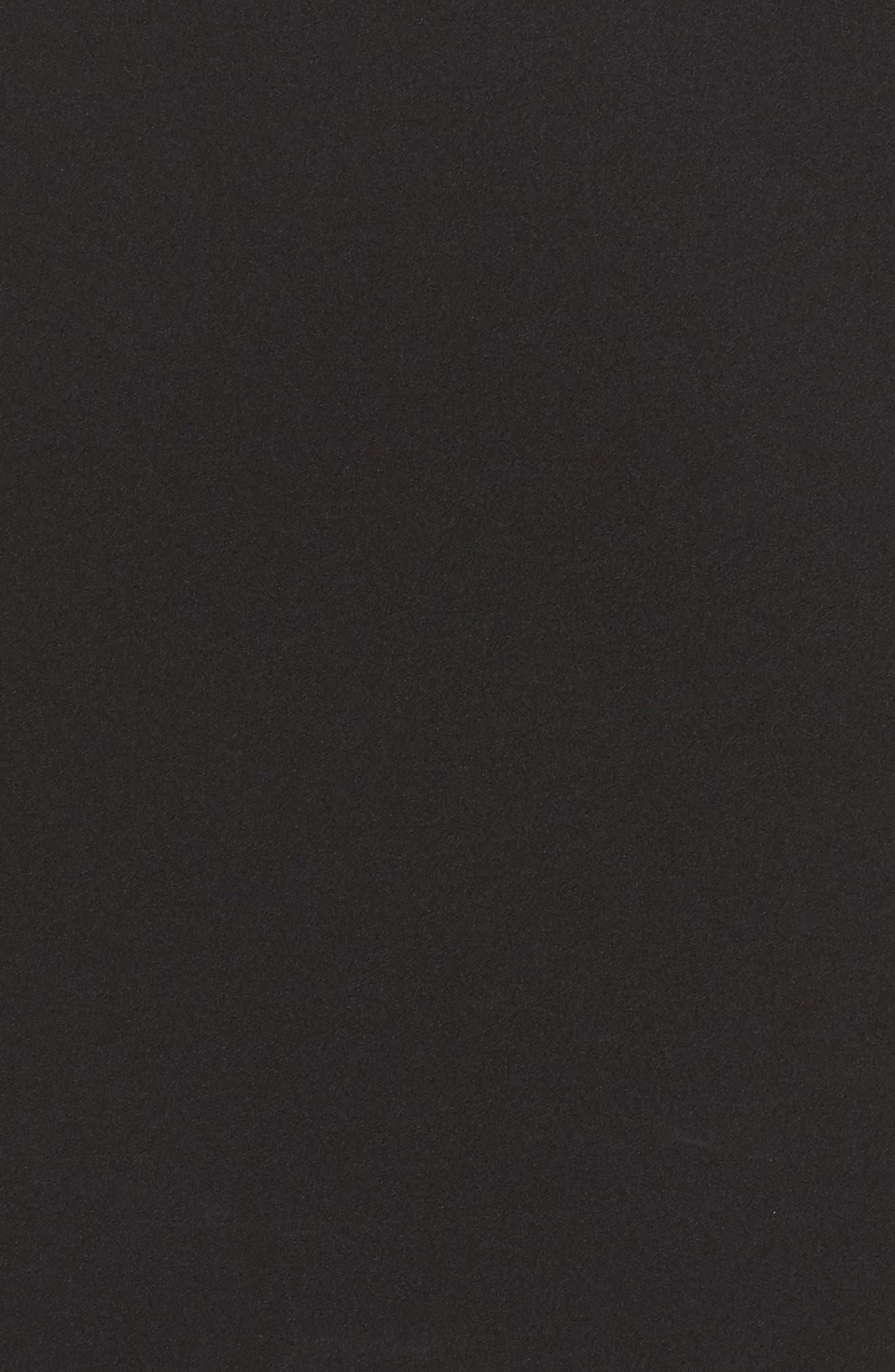Off the Shoulder Sheath Dress,                             Alternate thumbnail 5, color,                             Black