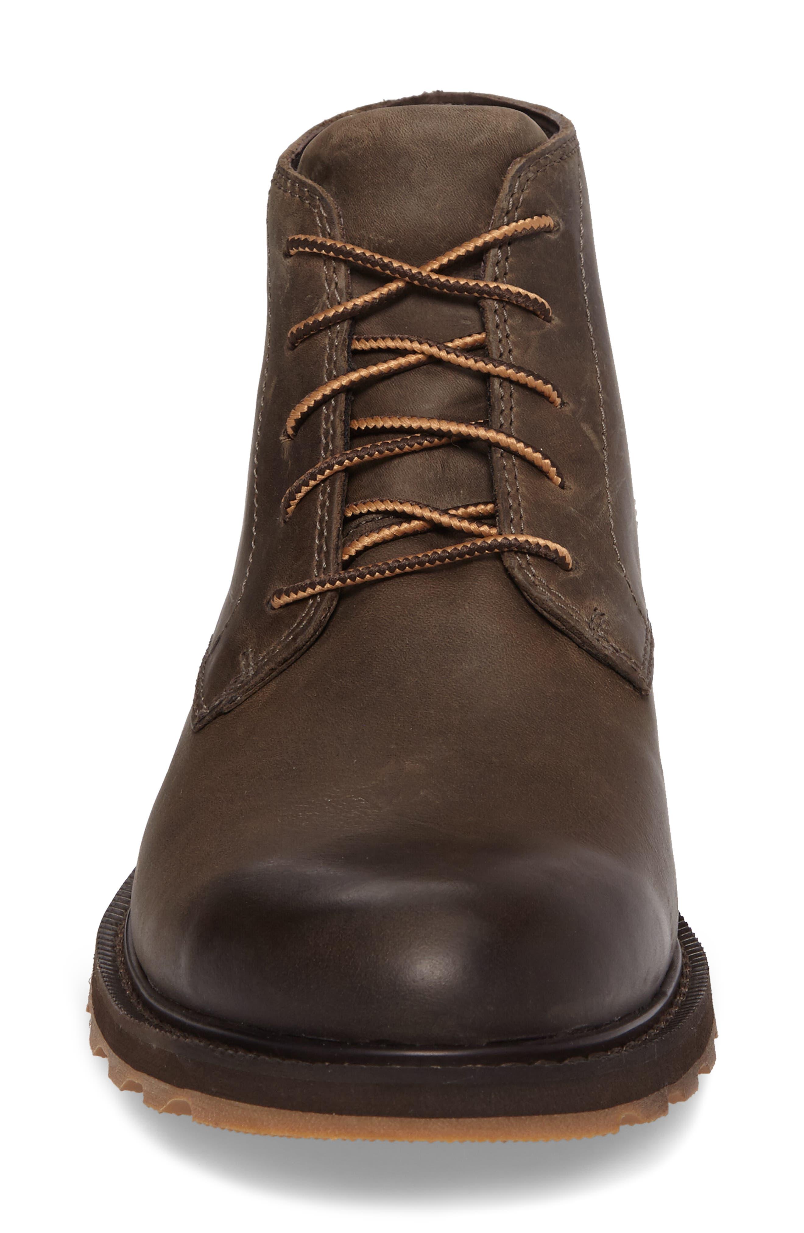 Madson Waterproof Boot,                             Alternate thumbnail 4, color,                             Major/ Cordovan