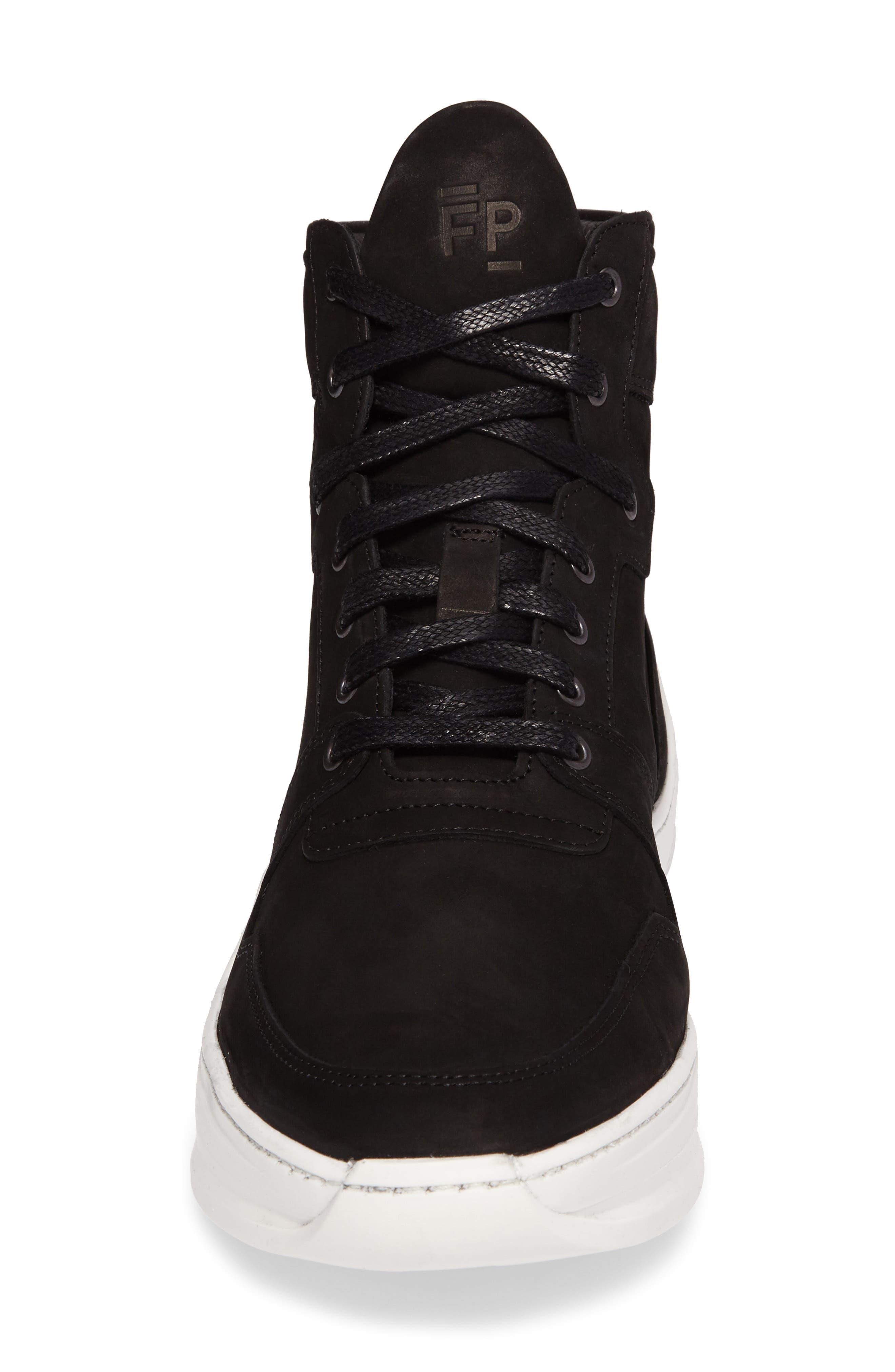 Transformed Sneaker,                             Alternate thumbnail 4, color,                             Basic Black