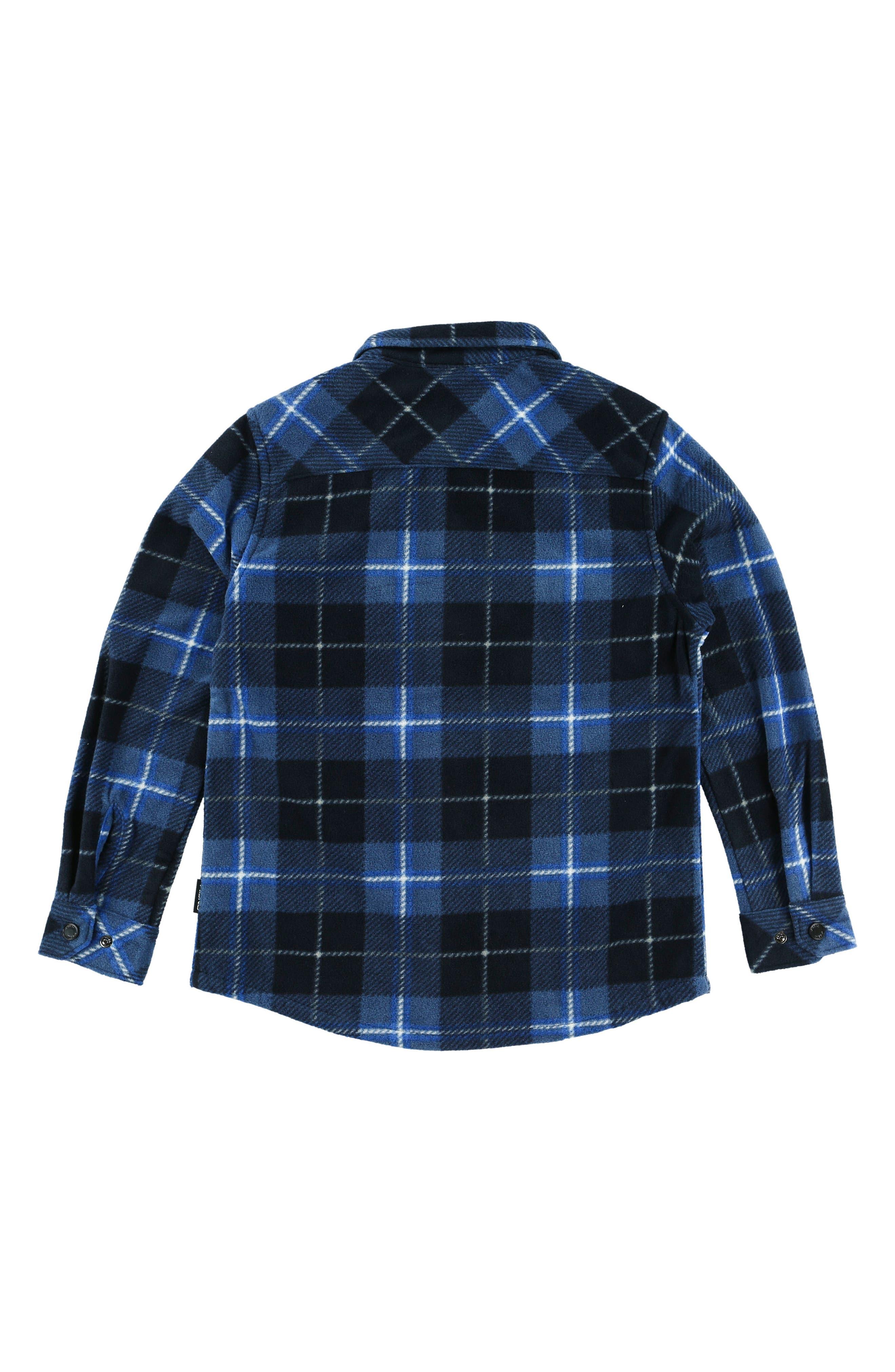 Glacier Plaid Shirt,                             Alternate thumbnail 2, color,                             Ocean