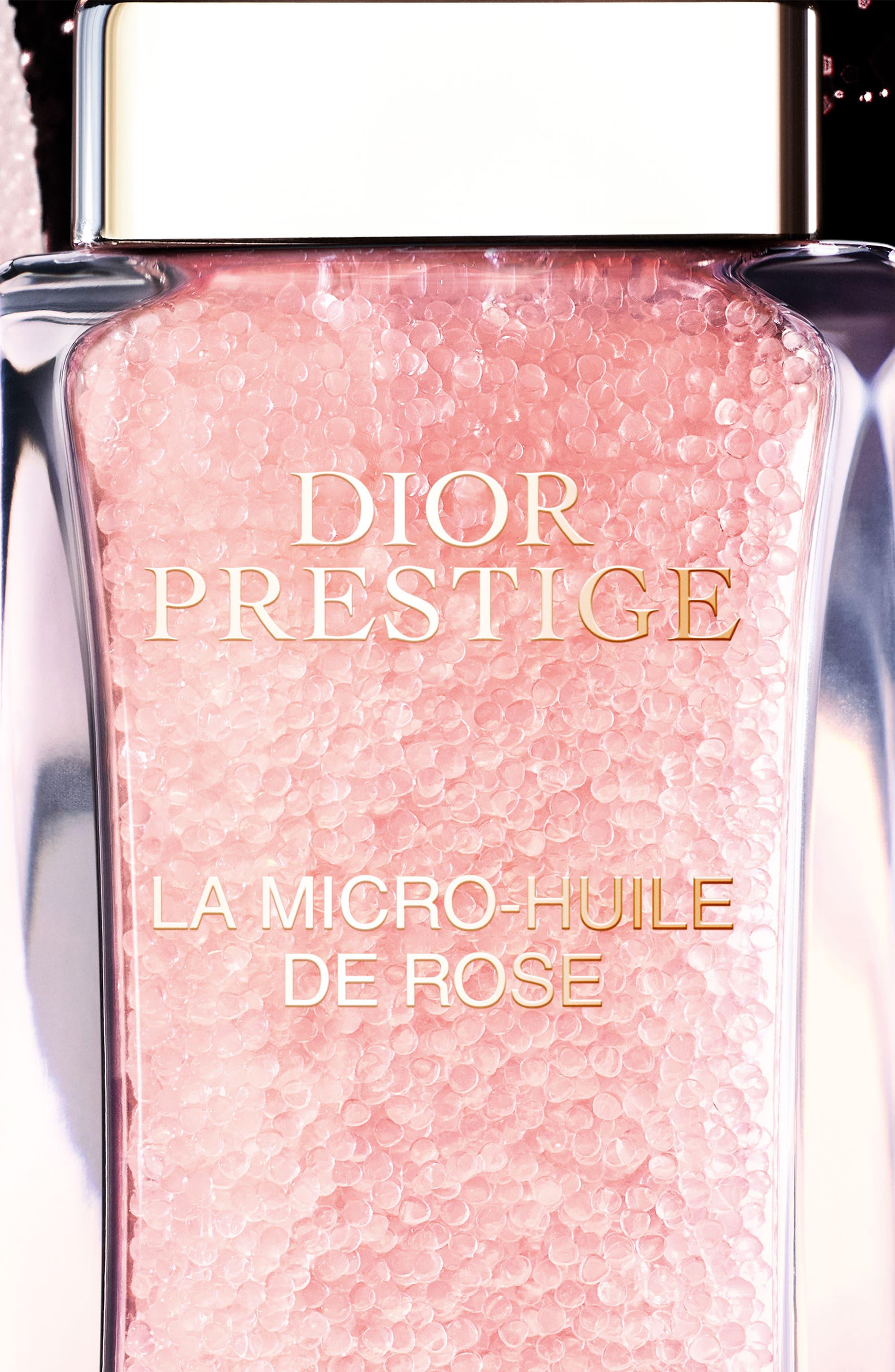 Prestige La Micro Huile de Rose Face Oil,                             Alternate thumbnail 4, color,                             No Color