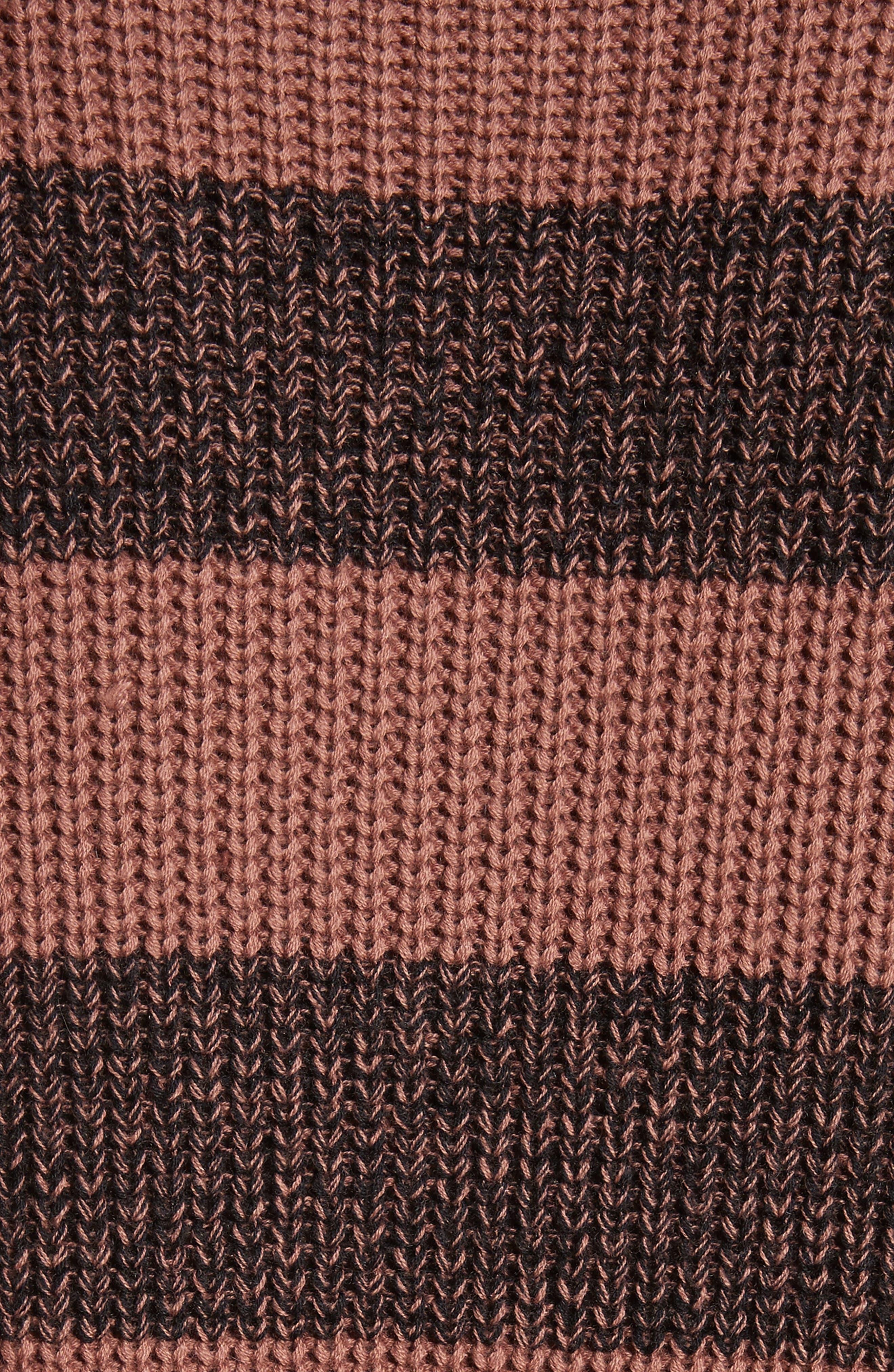 Alternate Image 5  - Saturdays NYC Lee Stripe Crewneck Sweater