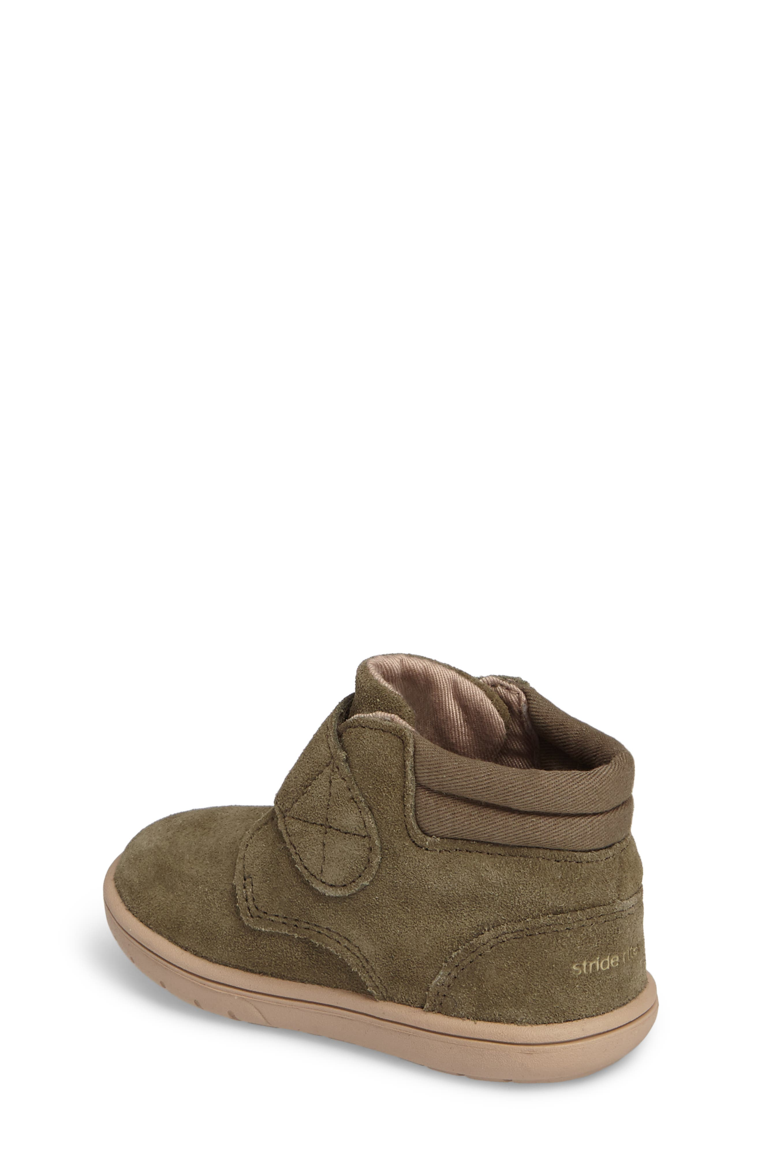 SRtech<sup>™</sup> Lincoln Bootie,                             Alternate thumbnail 2, color,                             Dark Green Suede