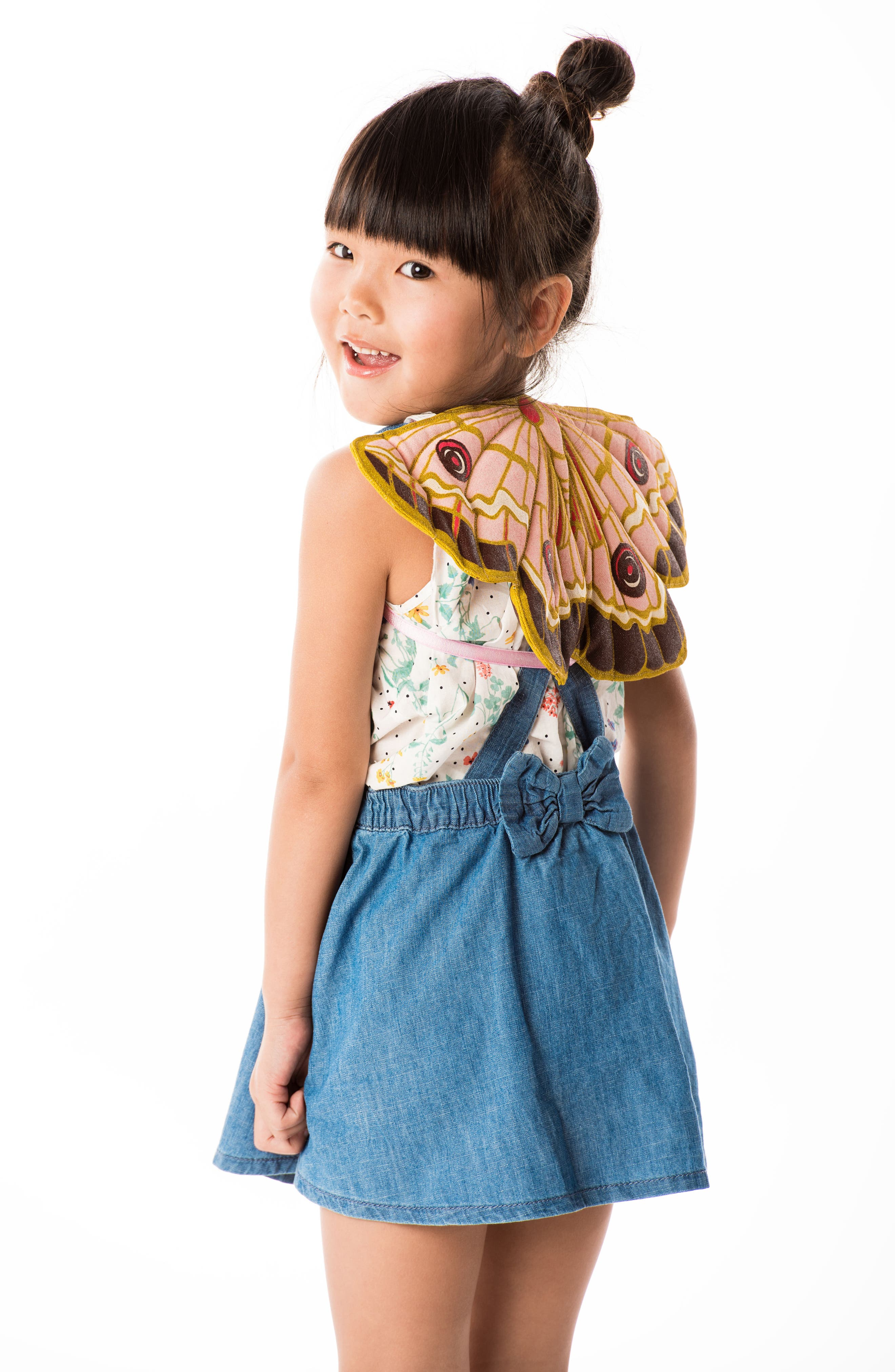 Alternate Image 3  - Lovelane Quilted Butterfly Wings (Baby & Toddler)