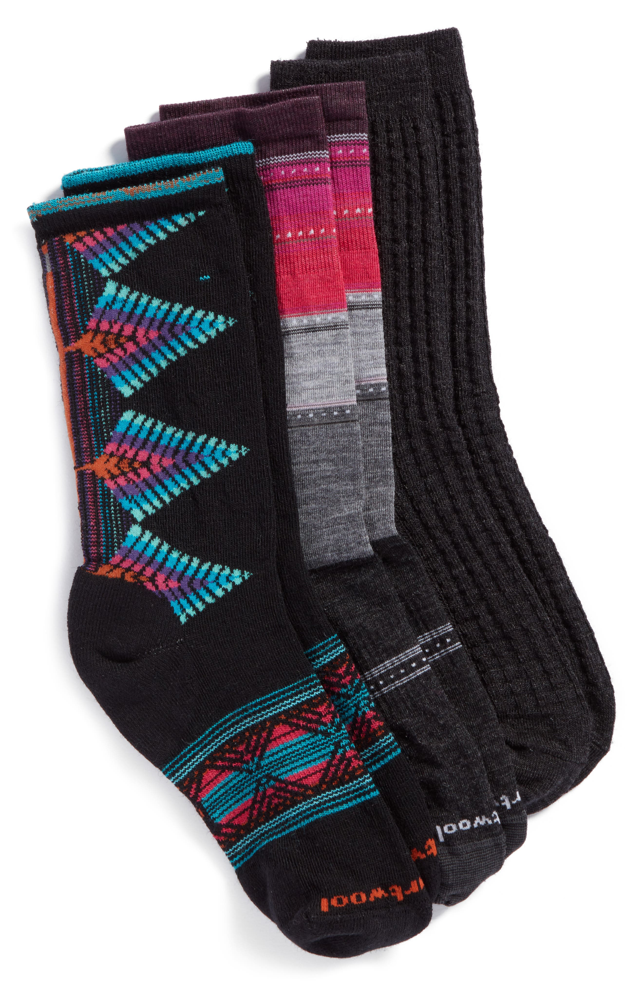 Smartwool 3-Pack Crew Socks