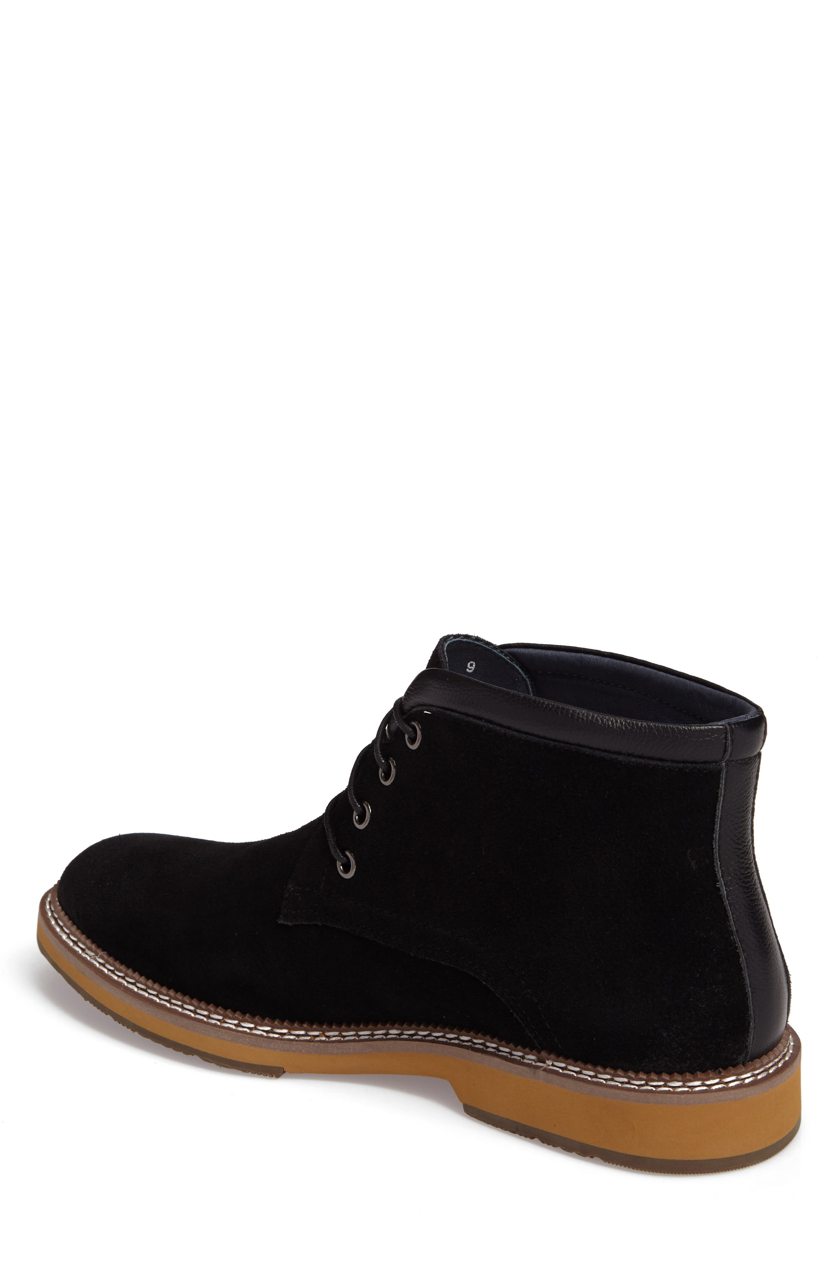 Lazo Chukka Boot,                             Alternate thumbnail 2, color,                             Black Leather