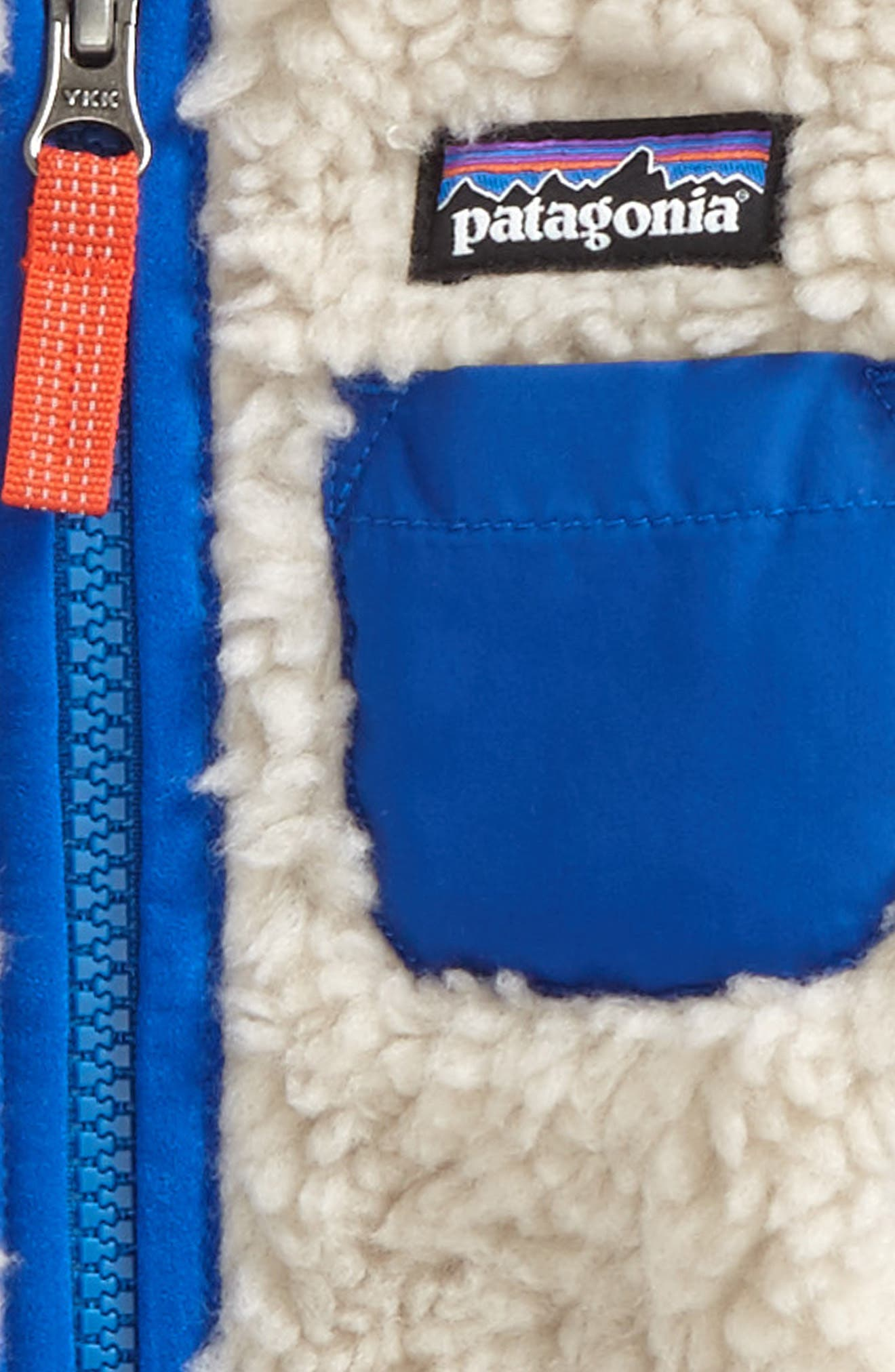 Retro-X Windproof Jacket,                             Alternate thumbnail 2, color,                             Natural/ Viking Blue
