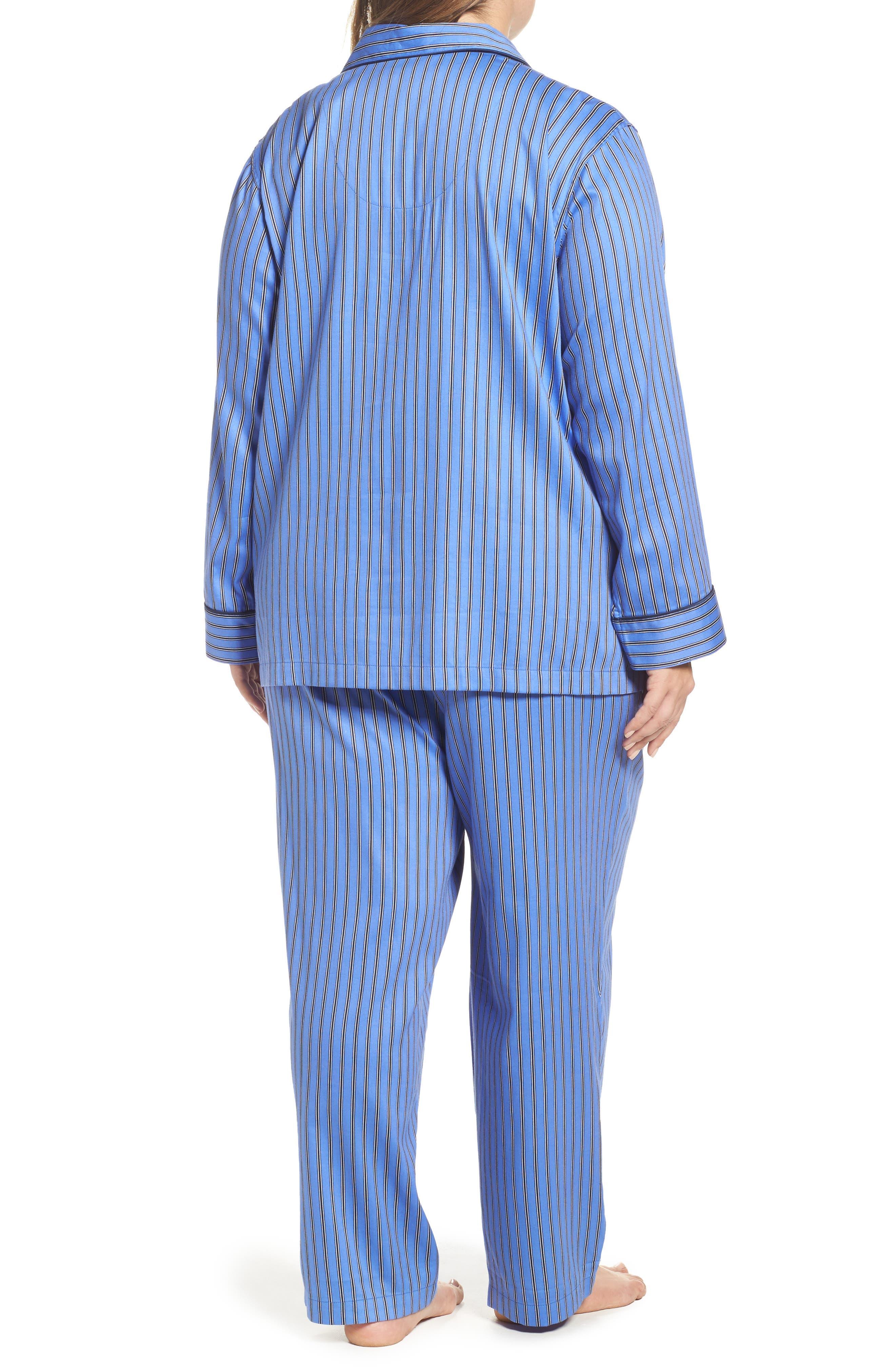 Alternate Image 2  - Lauren Ralph Lauren Pajamas (Plus Size)