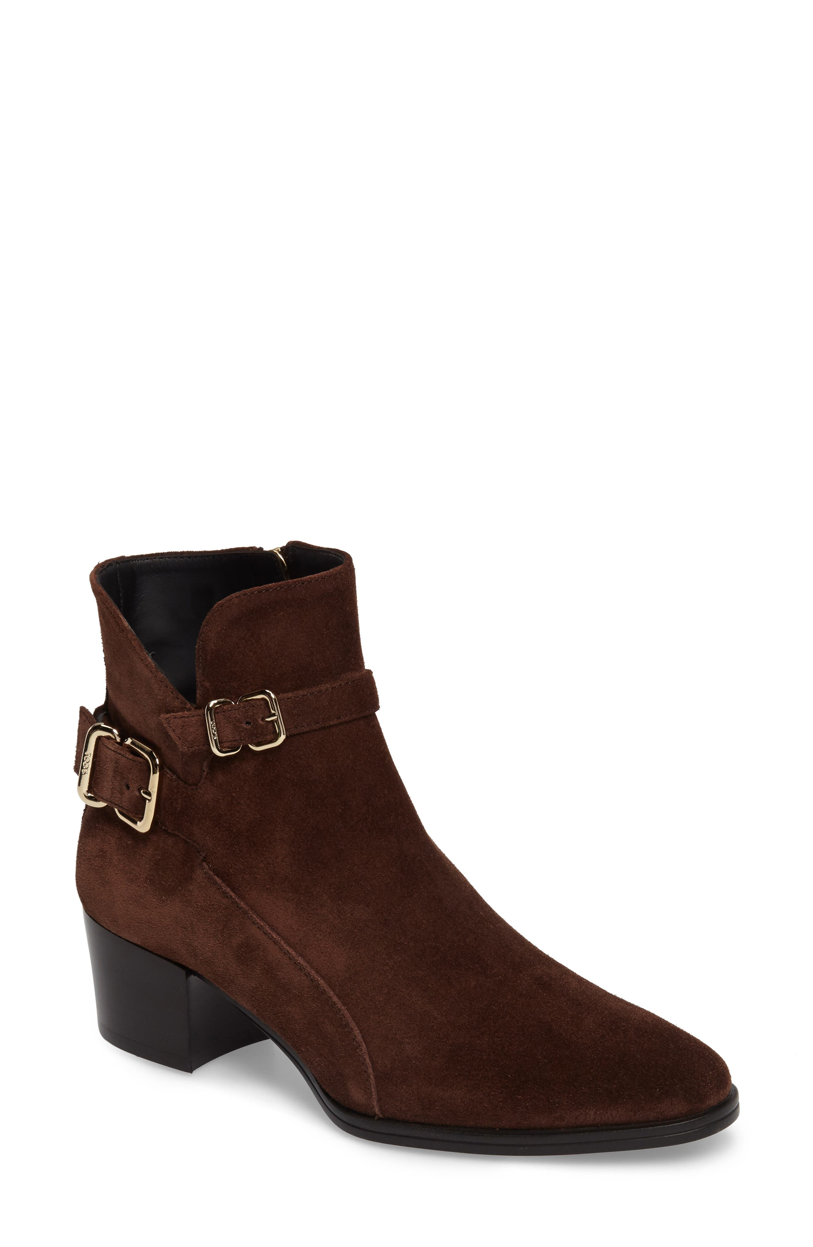 Alternate Image 1 Selected - Tod's Buckle Bootie (Women)