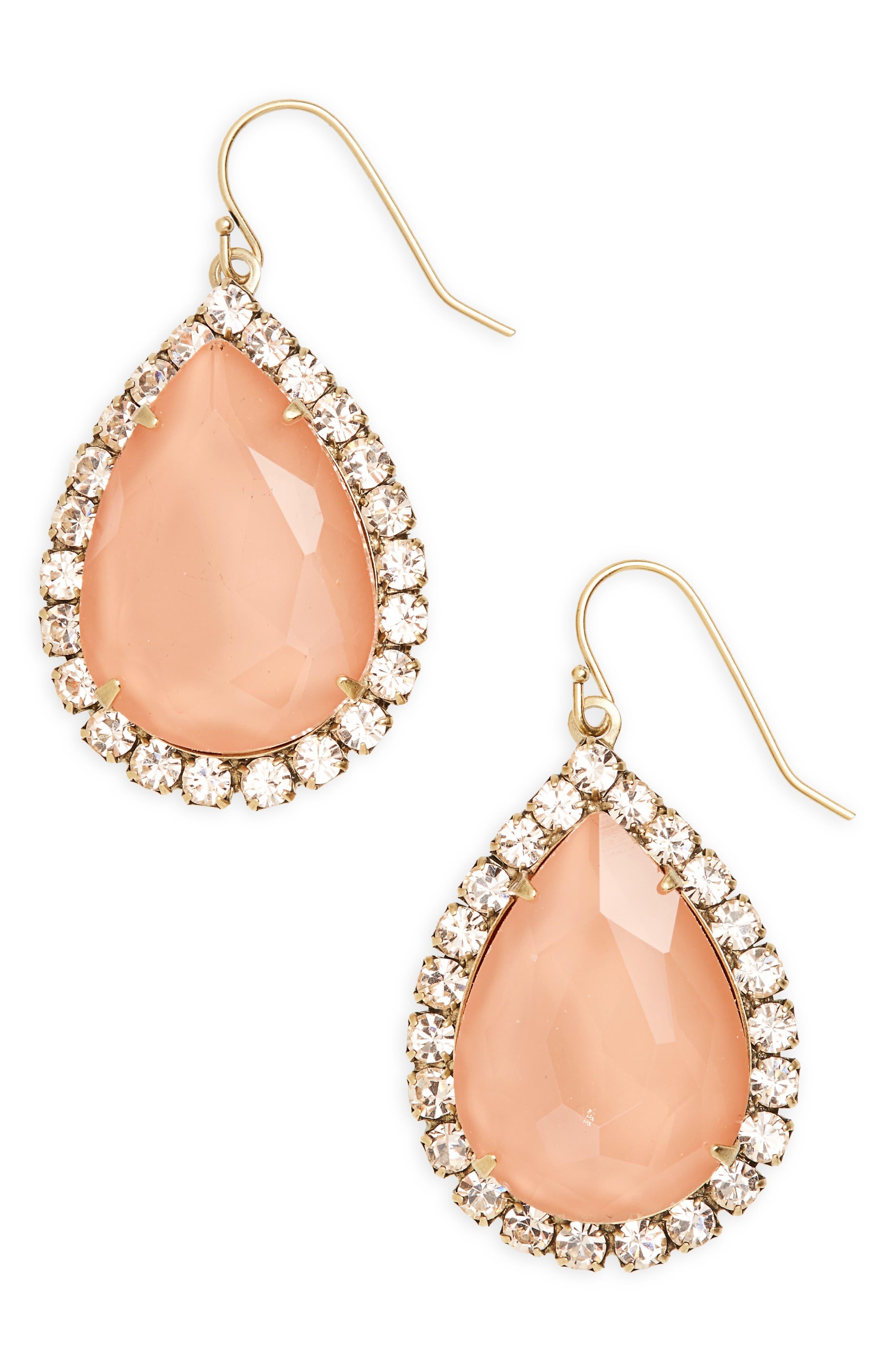 Loren Hope Kirsta Crystal Drop Earrings