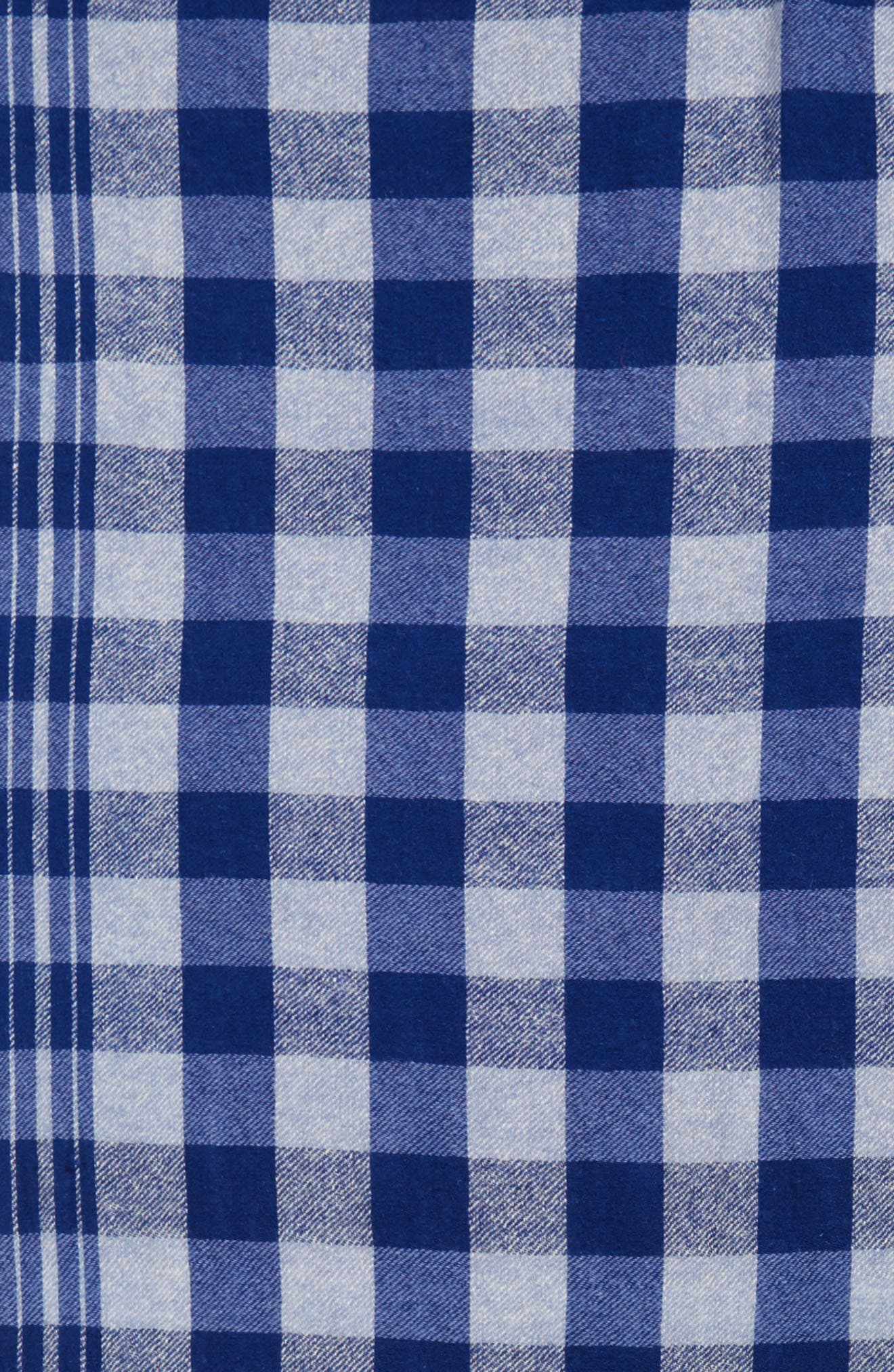 Alternate Image 4  - Standard Form Checked Wool & Cashmere Scarf
