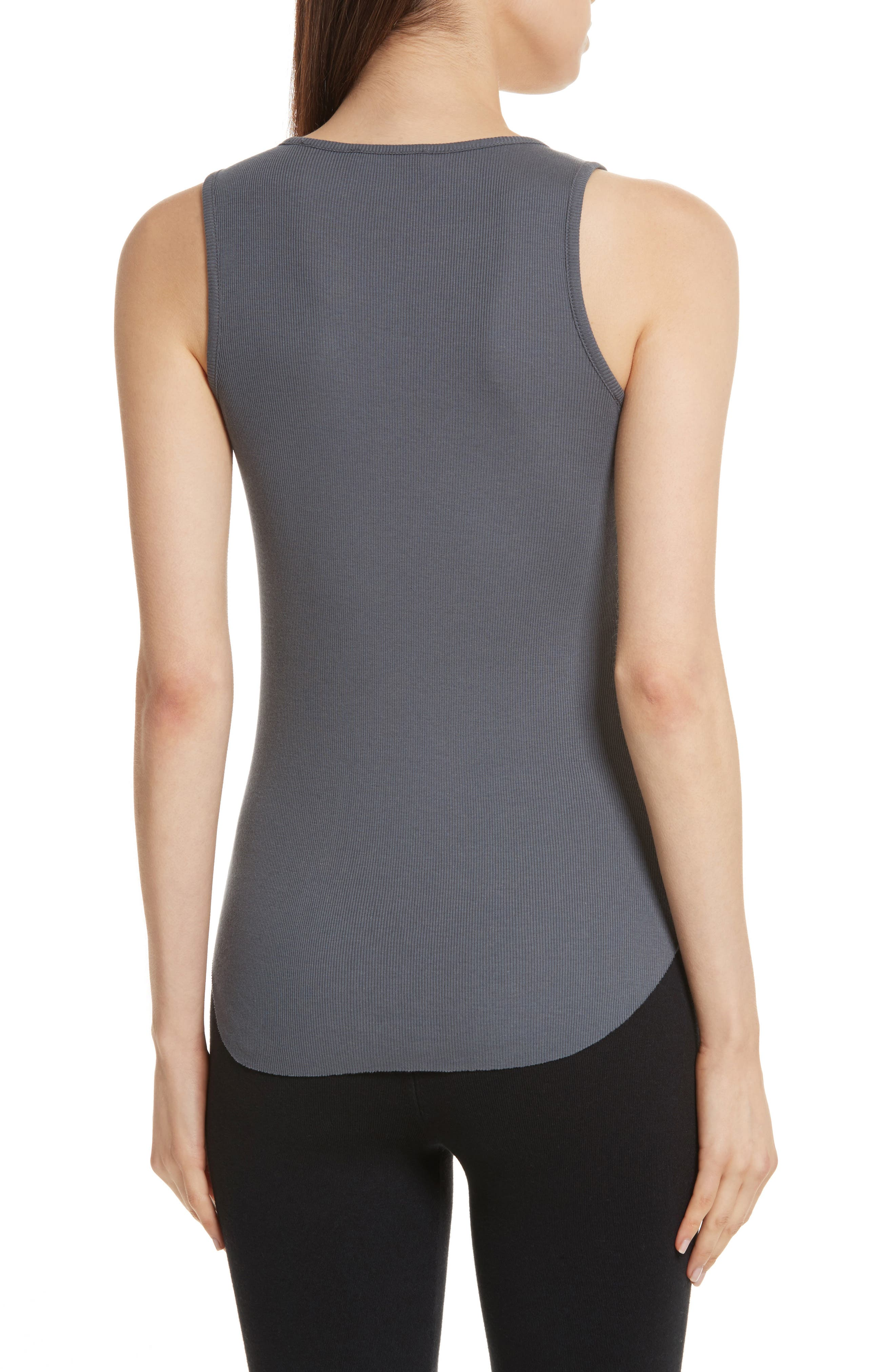 High Neck Tank,                             Alternate thumbnail 2, color,                             Shadow
