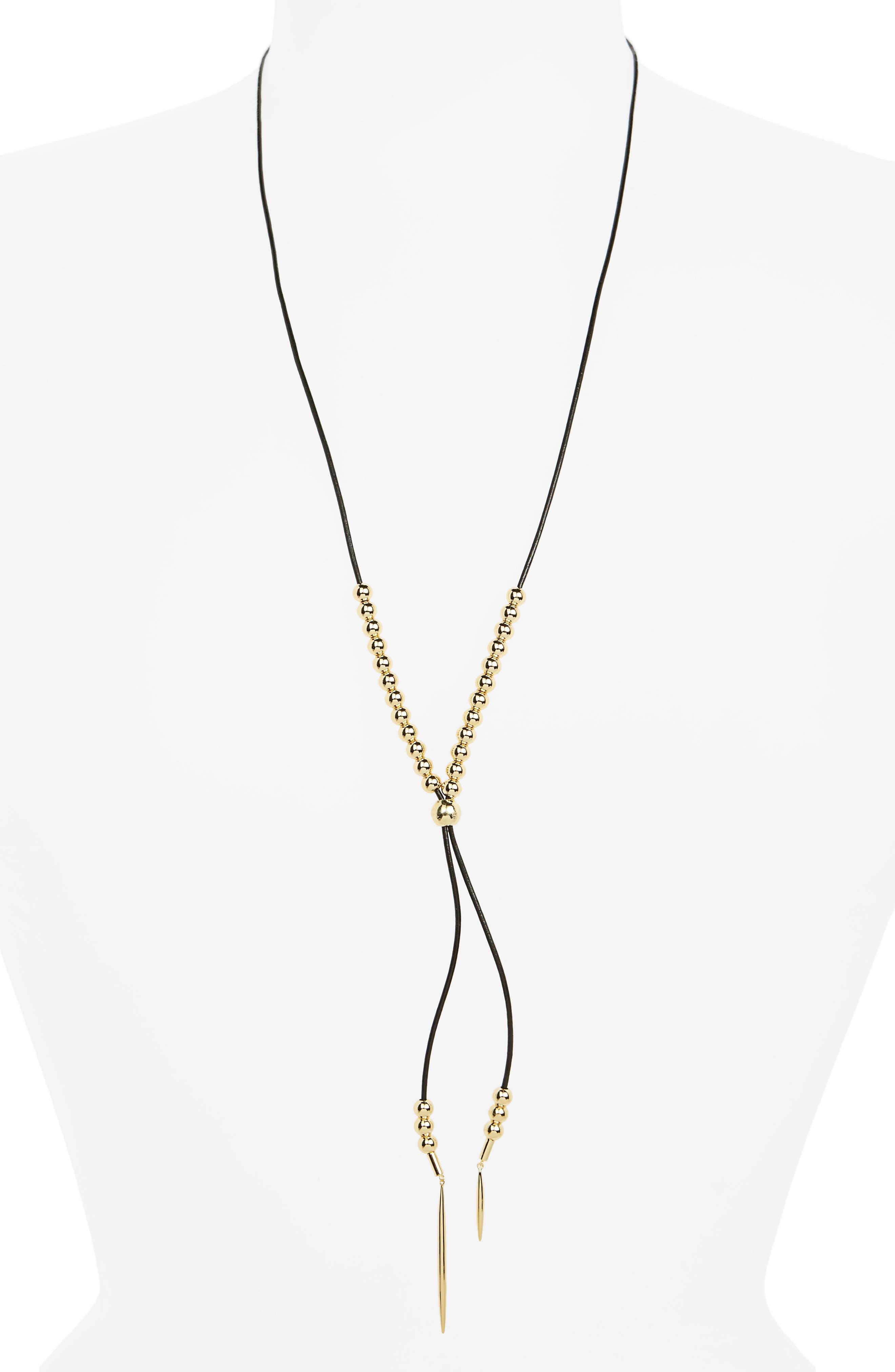 gorjana Newport Lariat Necklace