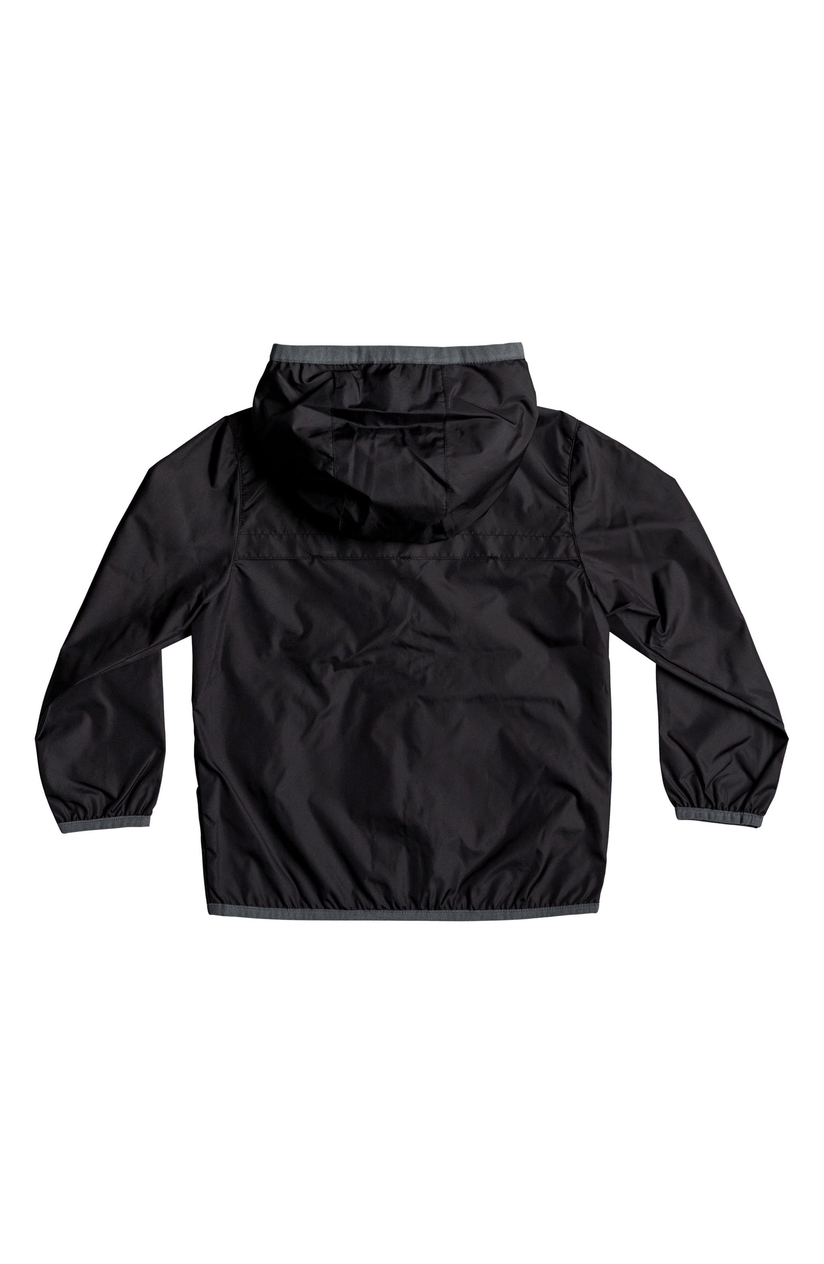 Hooded Jacket,                             Alternate thumbnail 2, color,                             Black