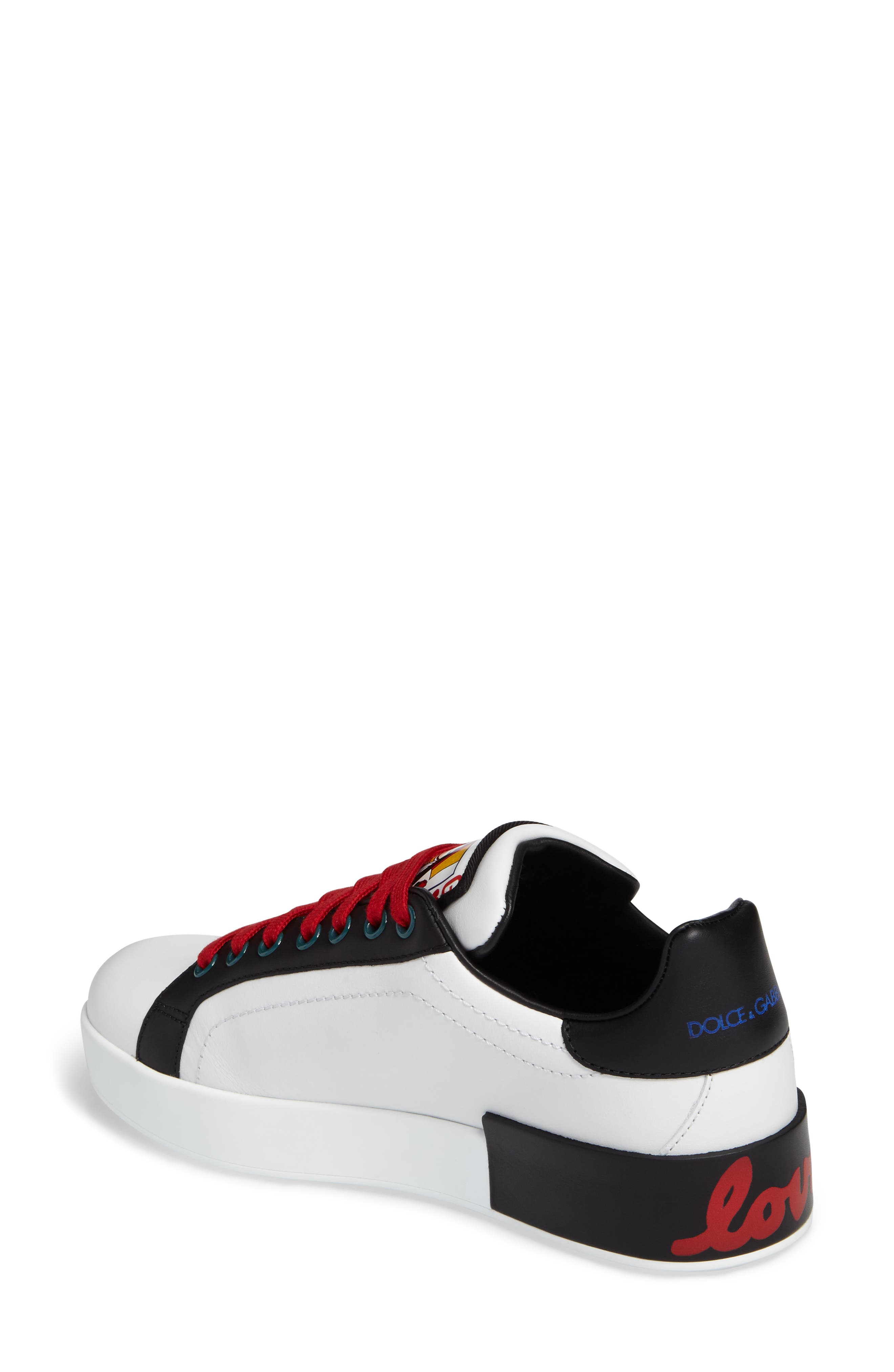Alternate Image 2  - Dolce&Gabbana Cartoon Sneaker (Women)