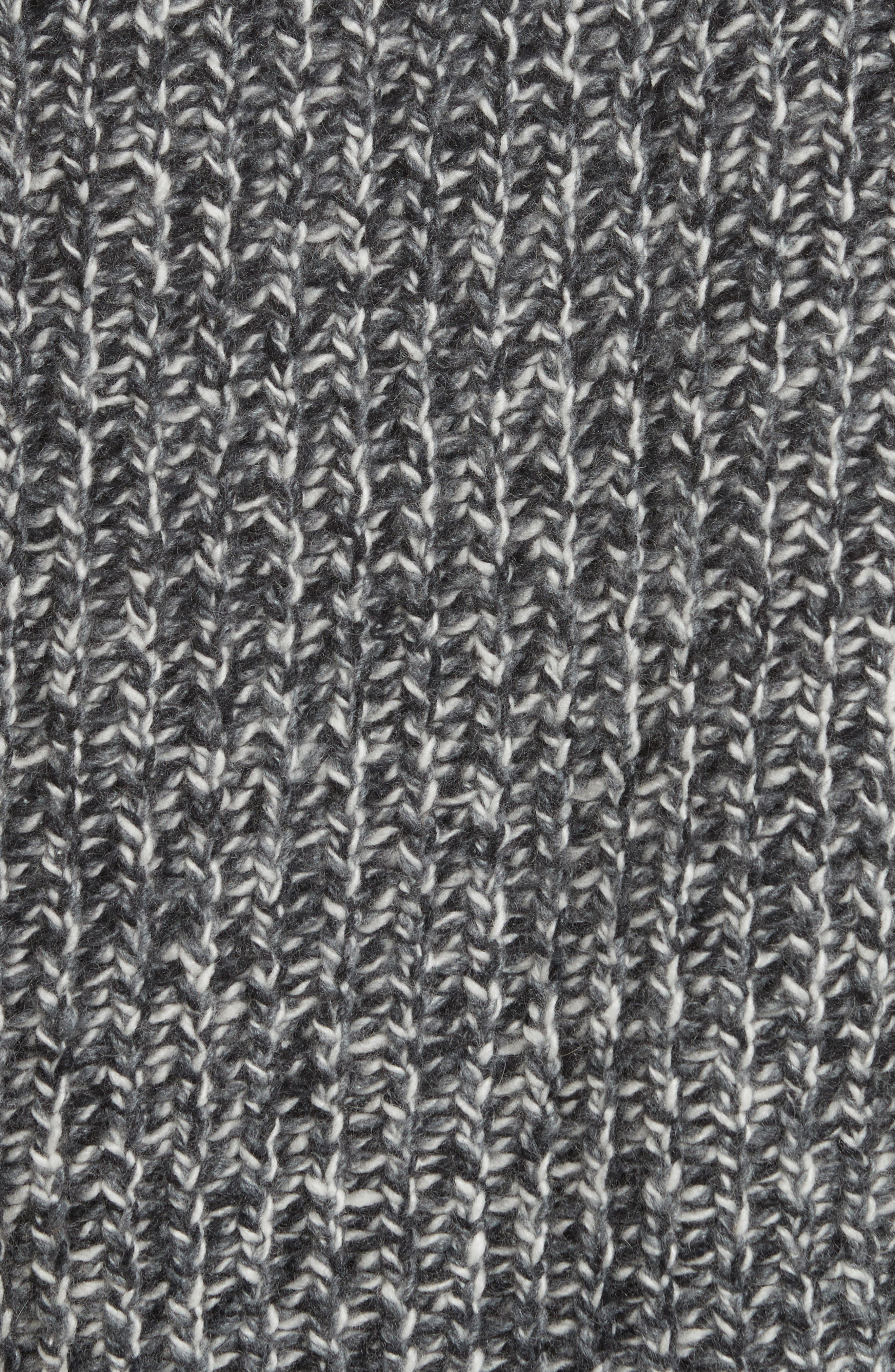 Marled Wool Blend Sweater,                             Alternate thumbnail 6, color,                             Grey