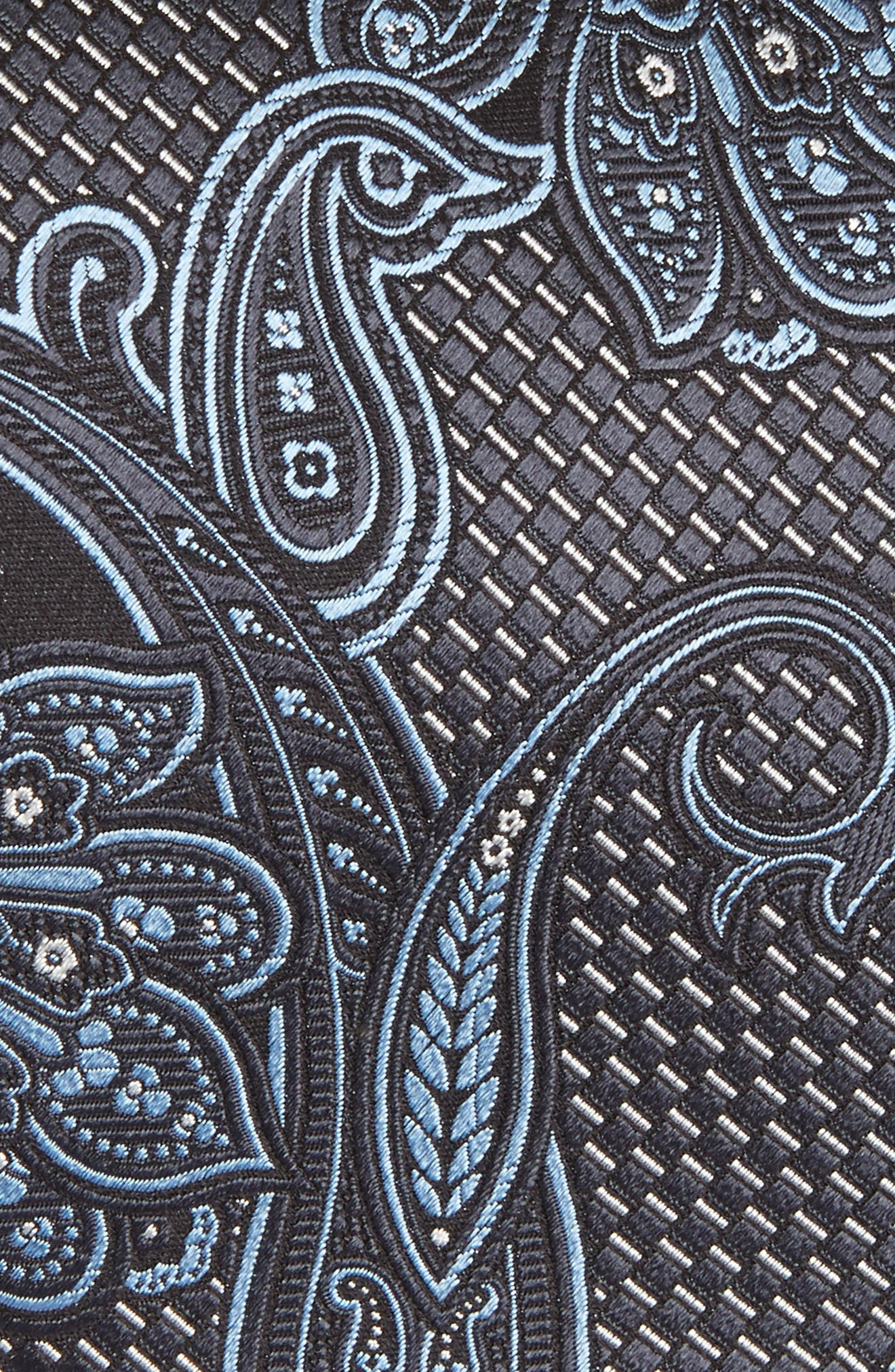 Alternate Image 2  - Ermenegildo Zegna Paisley Silk Tie (X-Long)