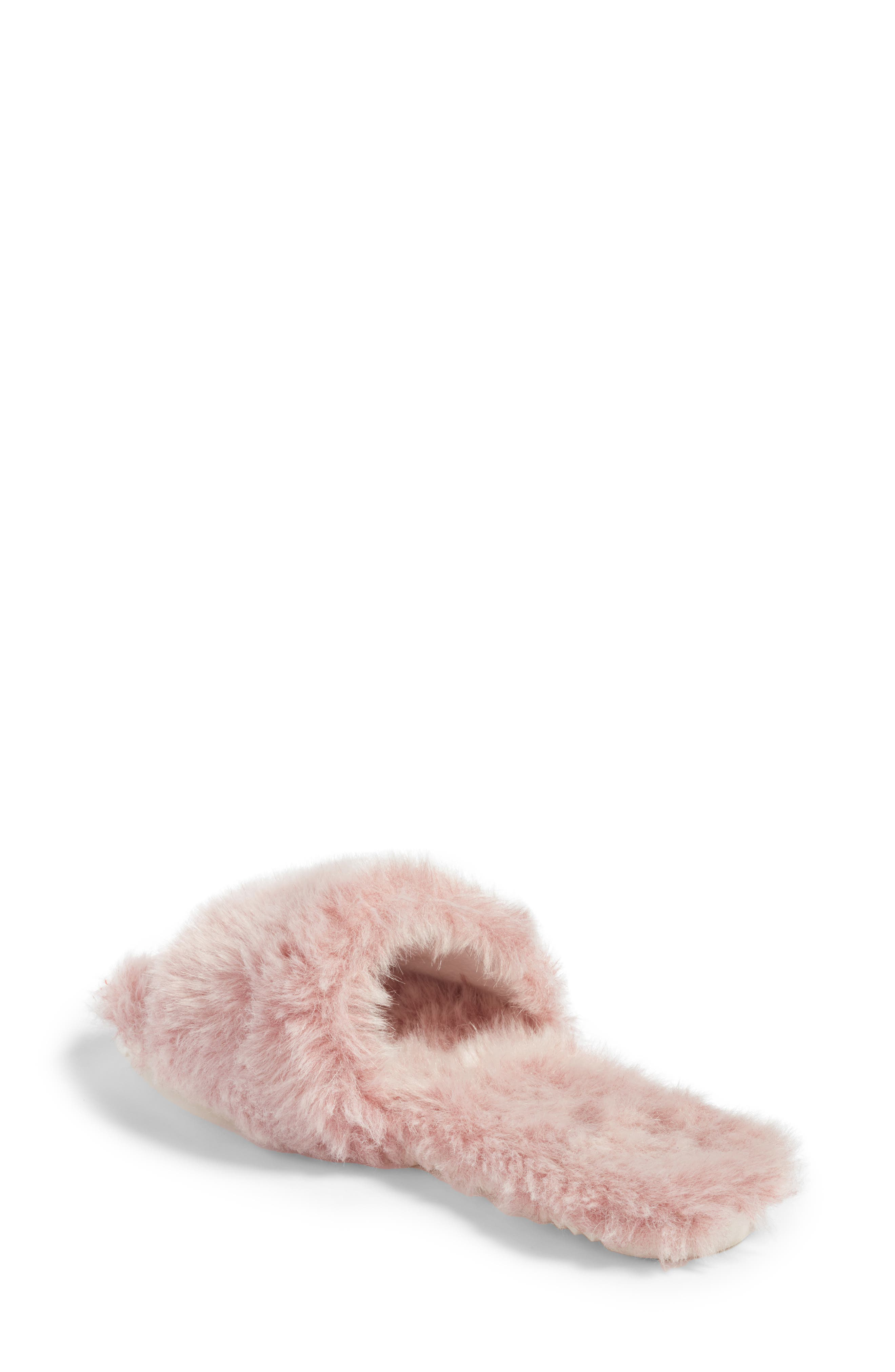 Alternate Image 2  - Joshua Sanders Faux Fur Slide Sandal (Women)