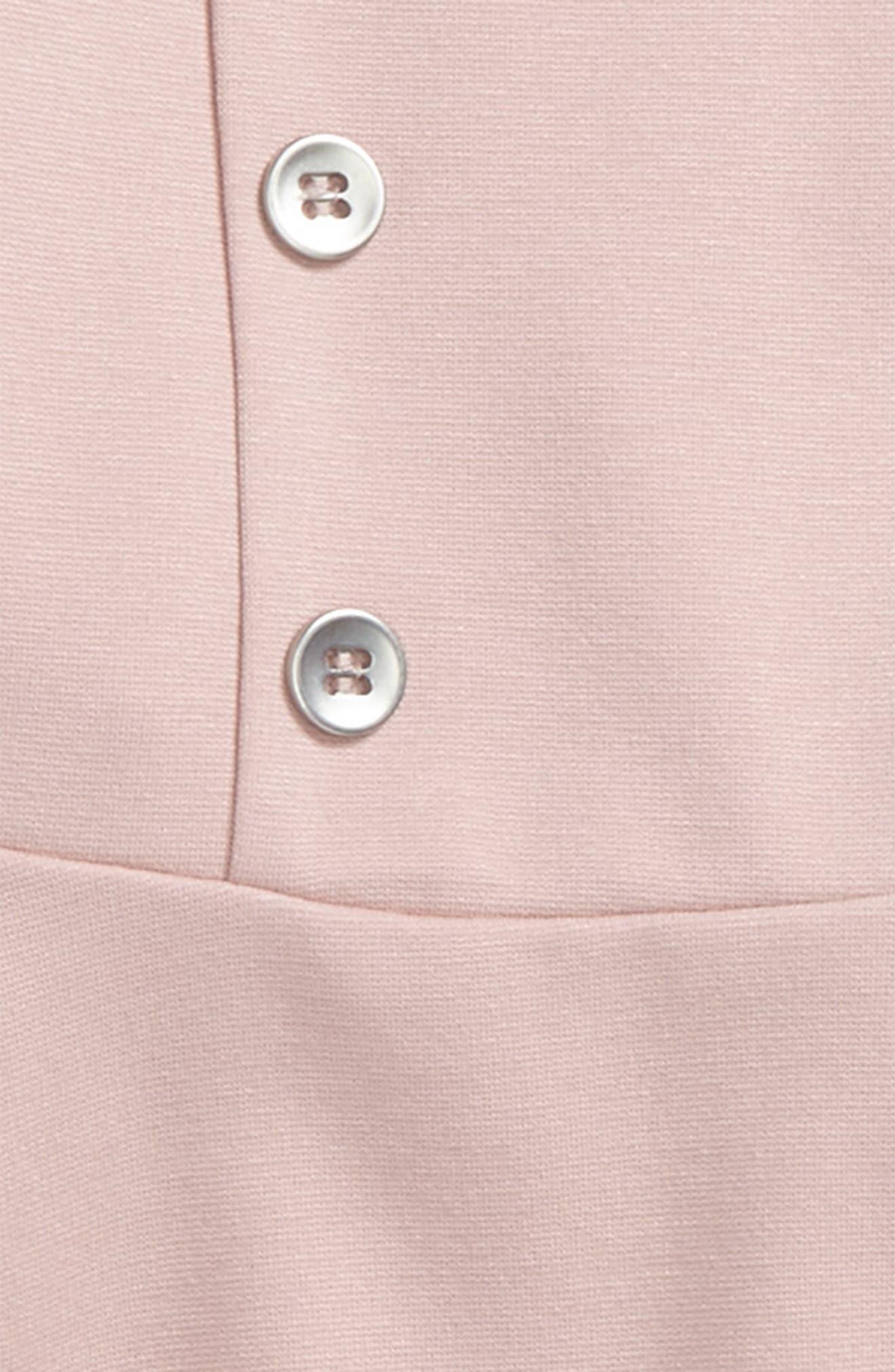 Alternate Image 2  - Bardot Junior Button Front Dress (Baby Girls & Toddler Girls)