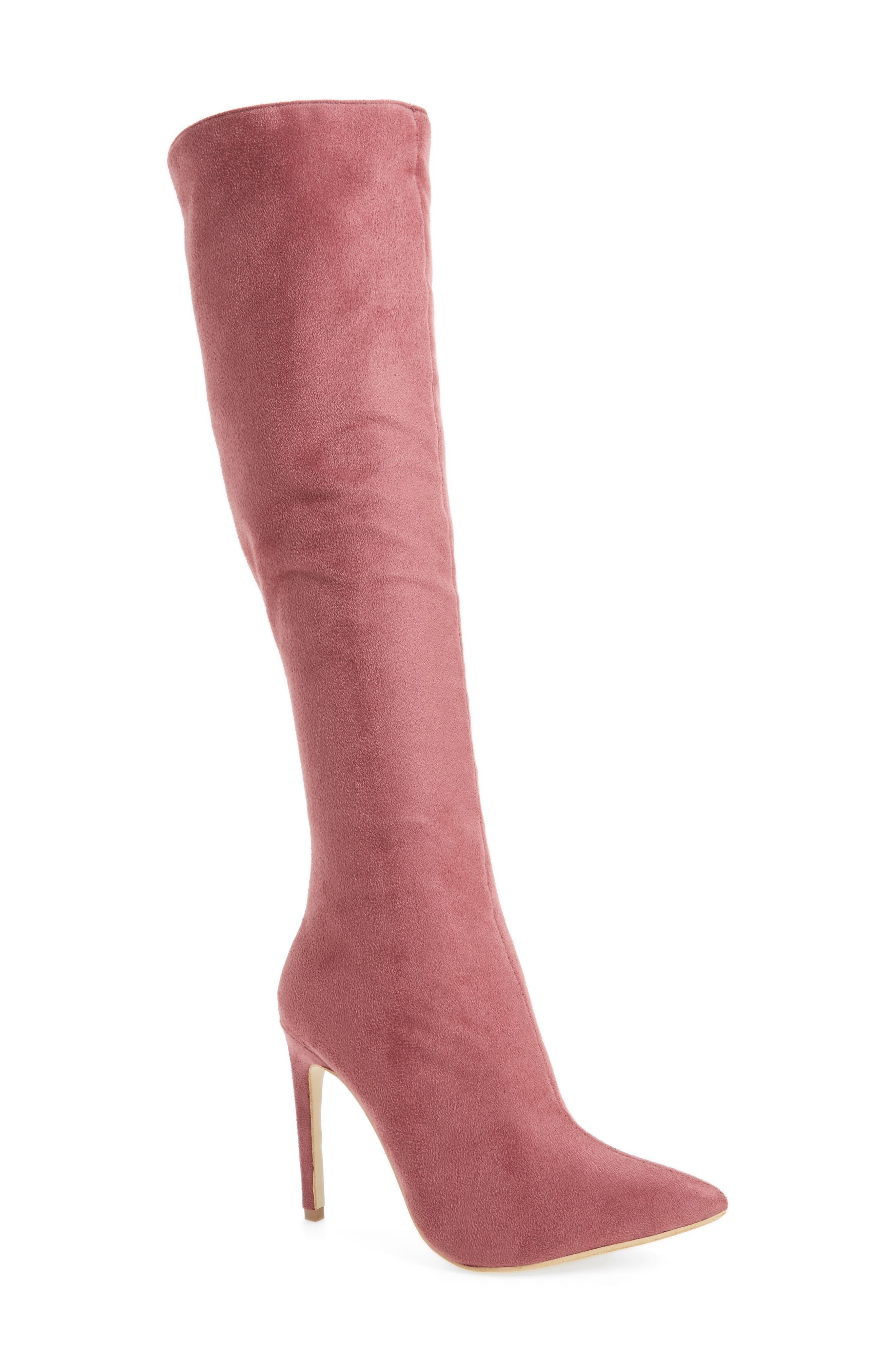 Jeffrey Campbell Jalouse Knee High Boot (Women)