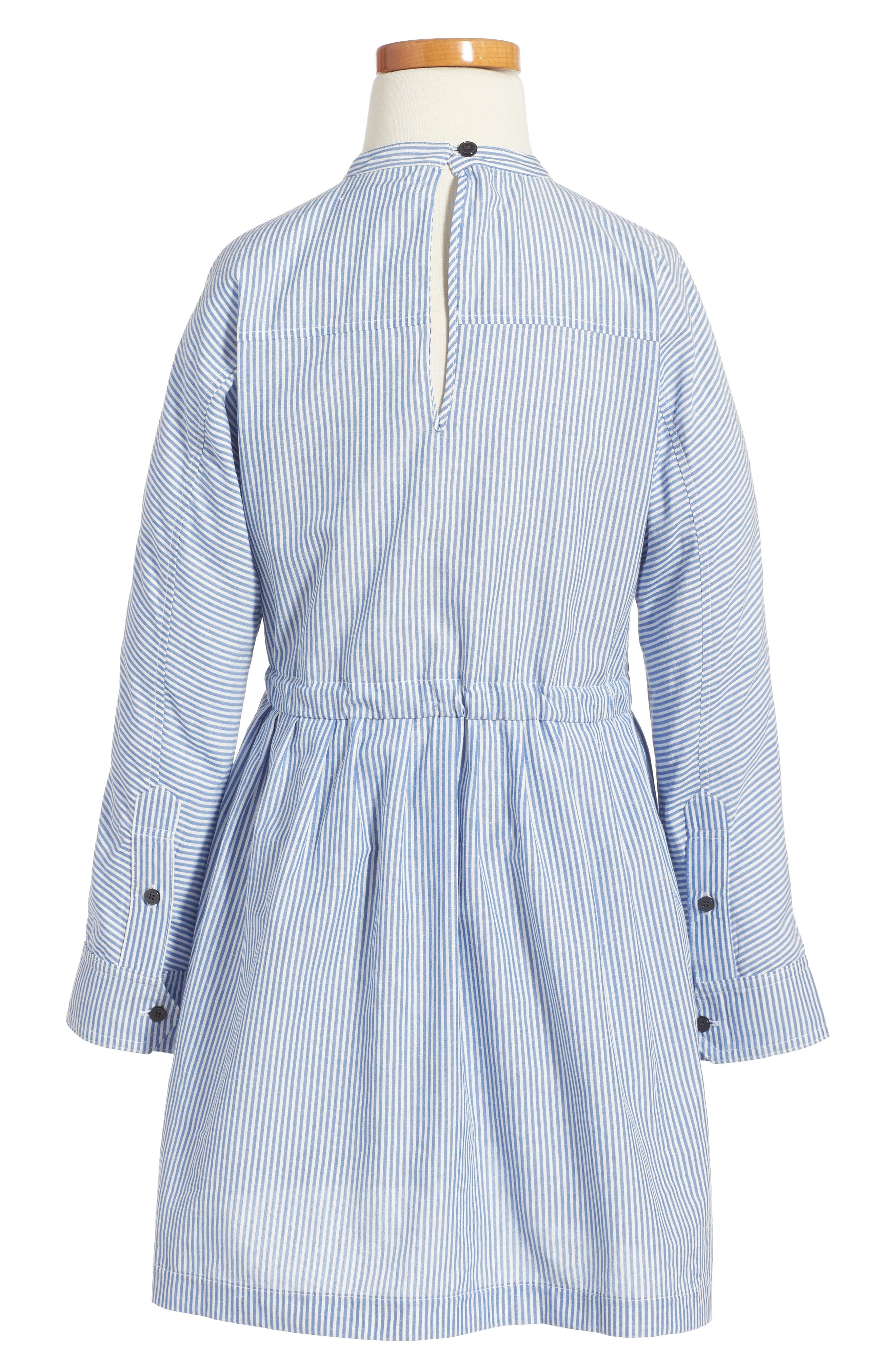 Alternate Image 2  - Burberry Cristy Patch Dress (Little Girls & Big Girls)