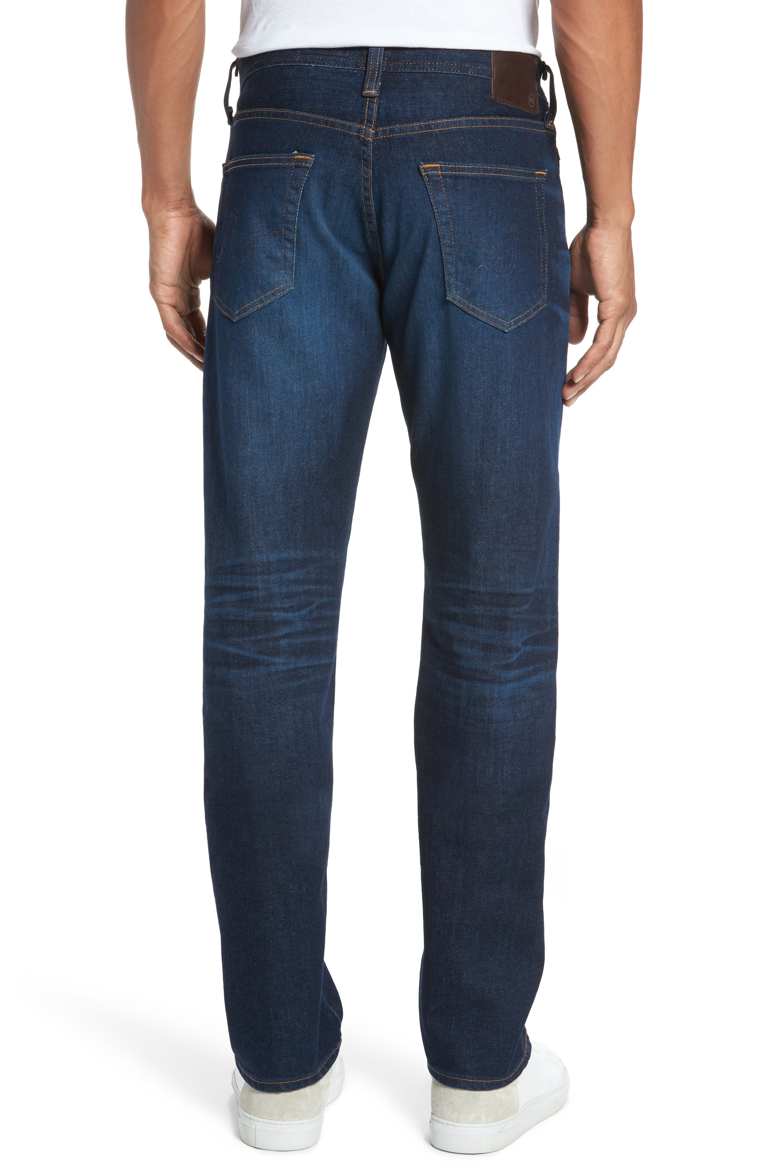 Alternate Image 2  - AG Graduate Slim Straight Fit Jeans (5 Years Porter)