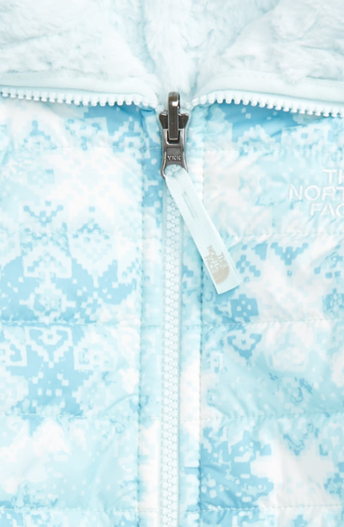 Mossbud Reversible Heatseeker<sup>™</sup> Wind Resistant Jacket,                             Alternate thumbnail 3, color,                             Origin Blue Snowflake