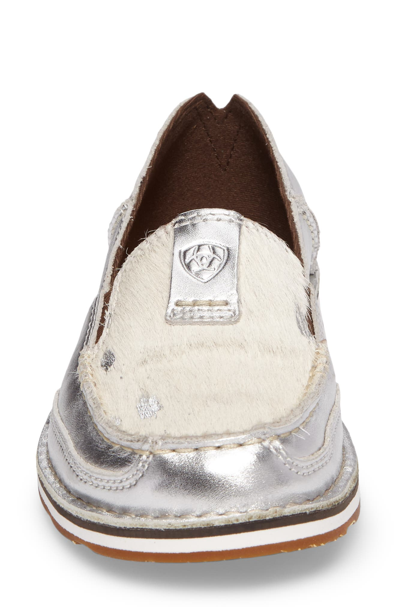 Alternate Image 4  - Ariat Cruiser Genuine Calf Hair Slip-On Loafer (Women)