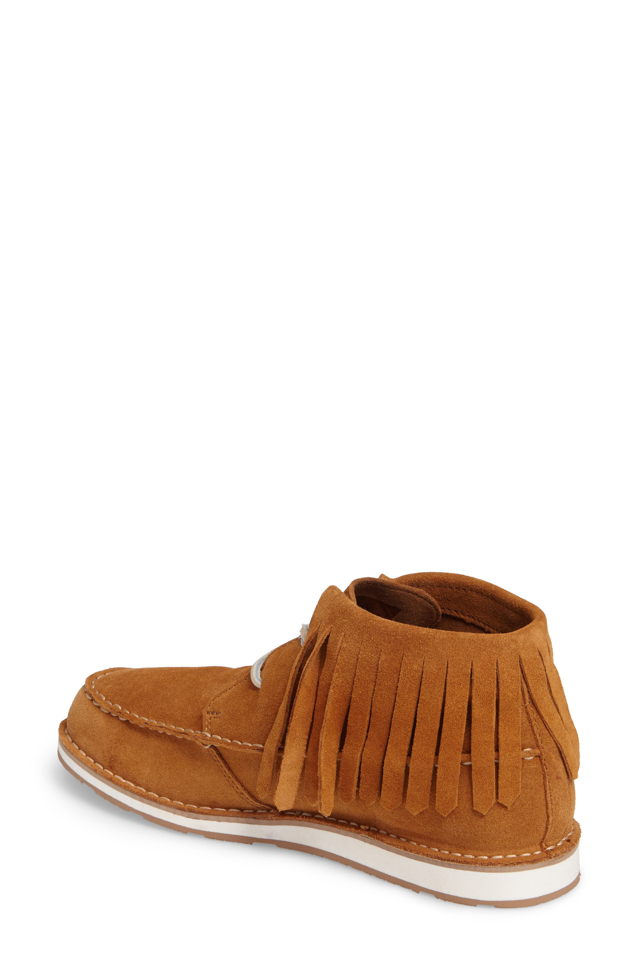 Alternate Image 2  - Ariat Cruiser Fringe Chukka Boot (Women)