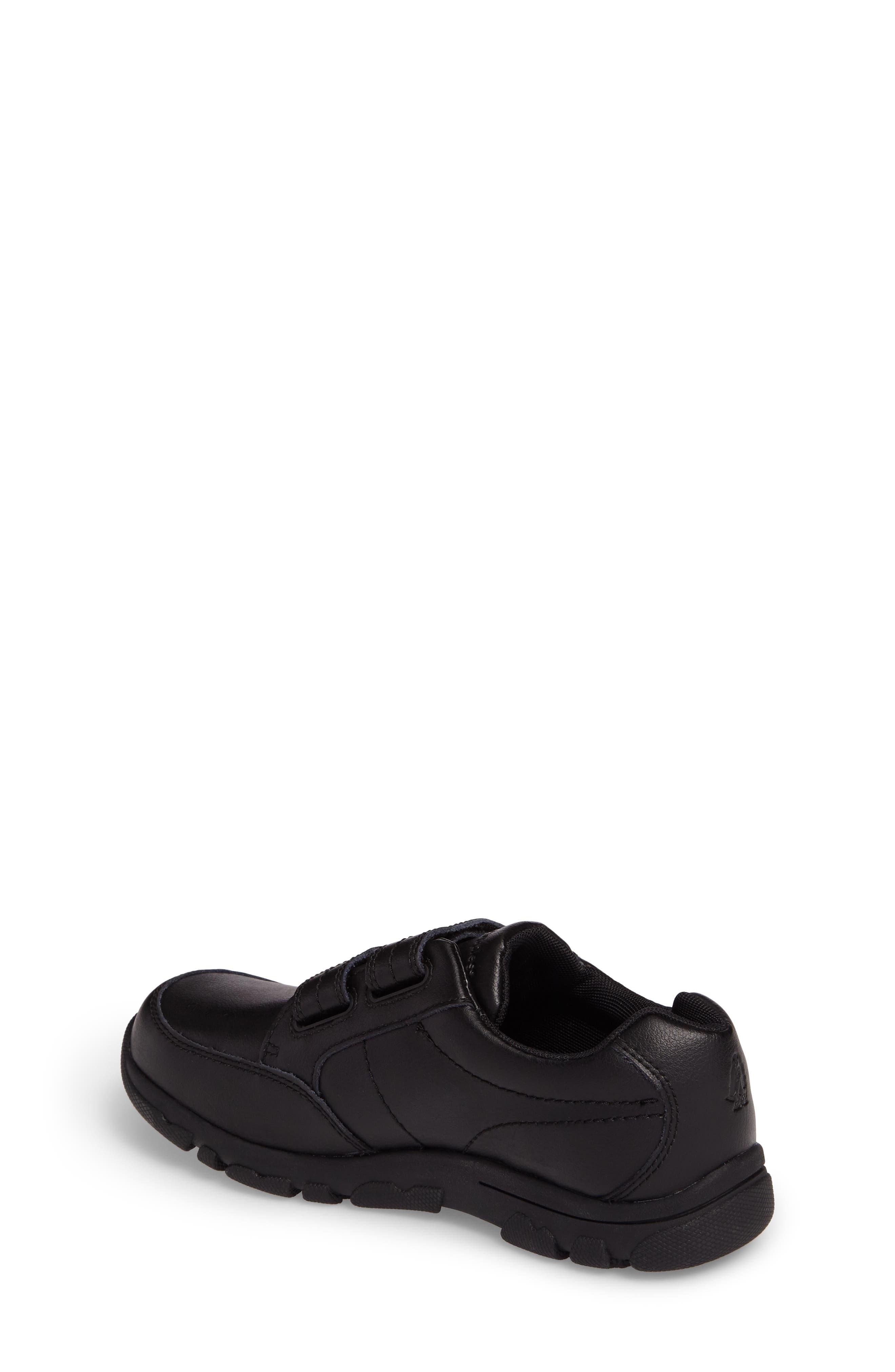 Jace Dress Sneaker,                             Alternate thumbnail 2, color,                             Black Leather
