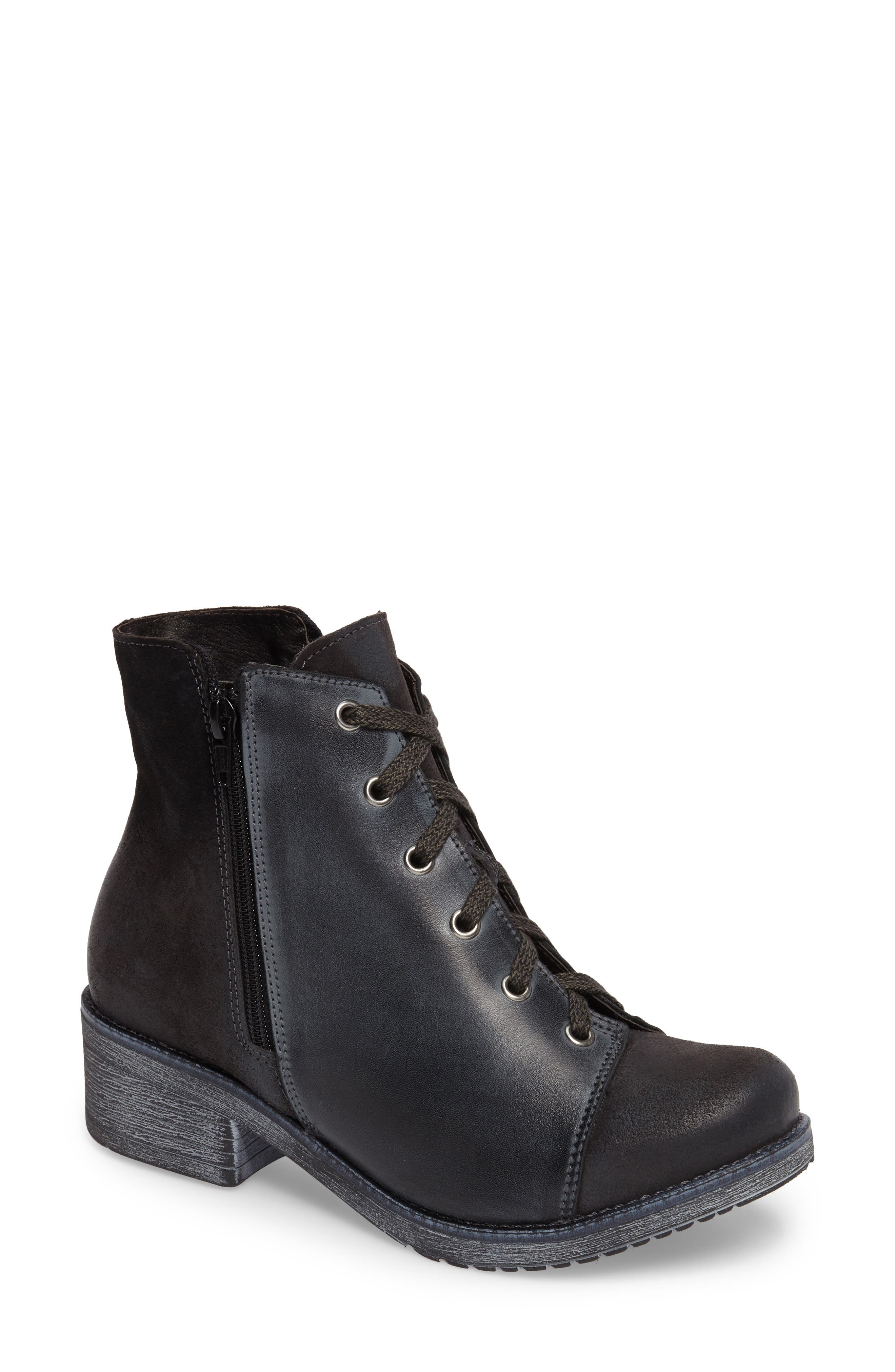 Main Image - Naot Groovy Lace Up Bootie (Women)