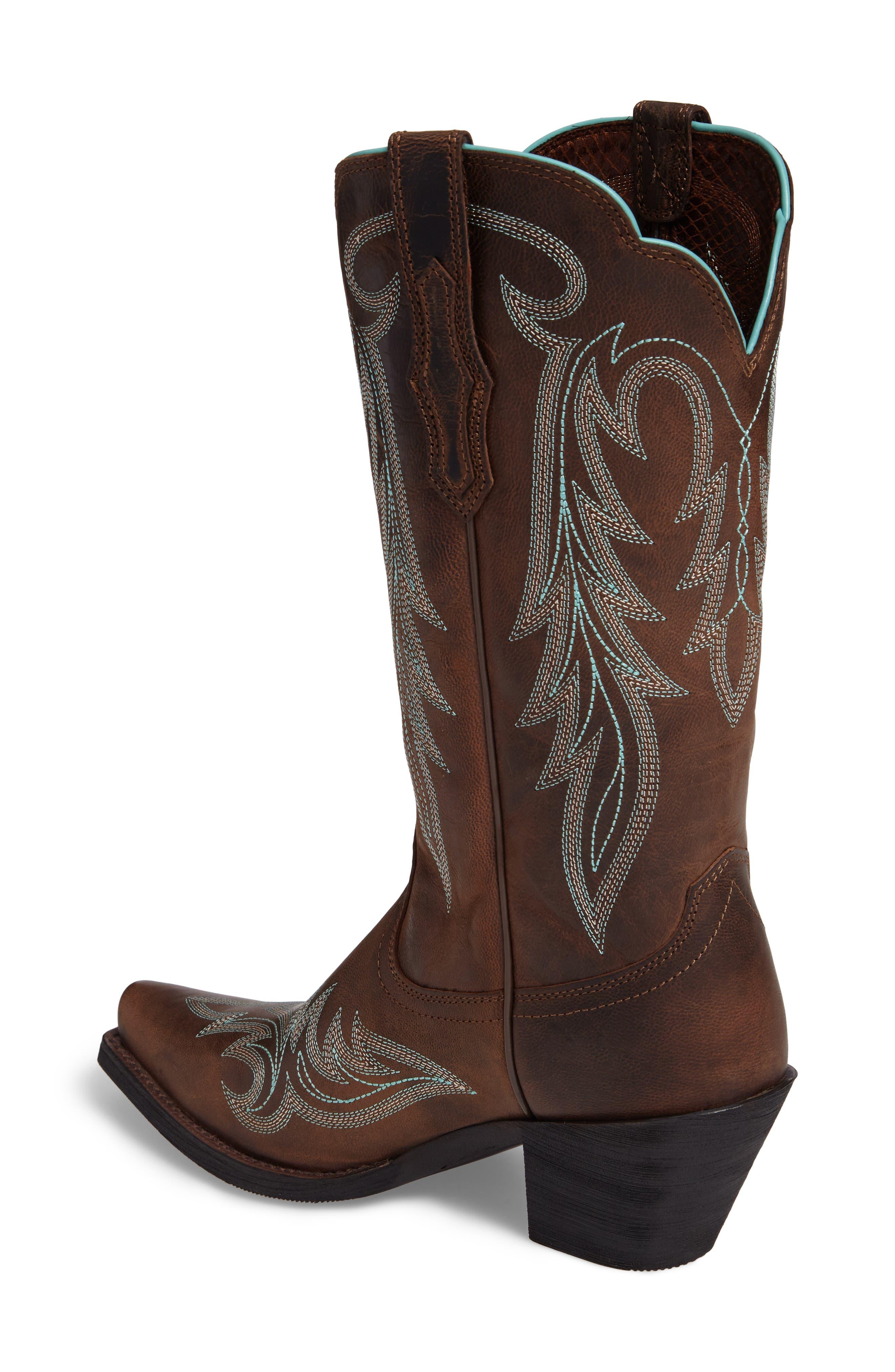 Alternate Image 2  - Ariat Round Up Renegade Western Boot (Women)