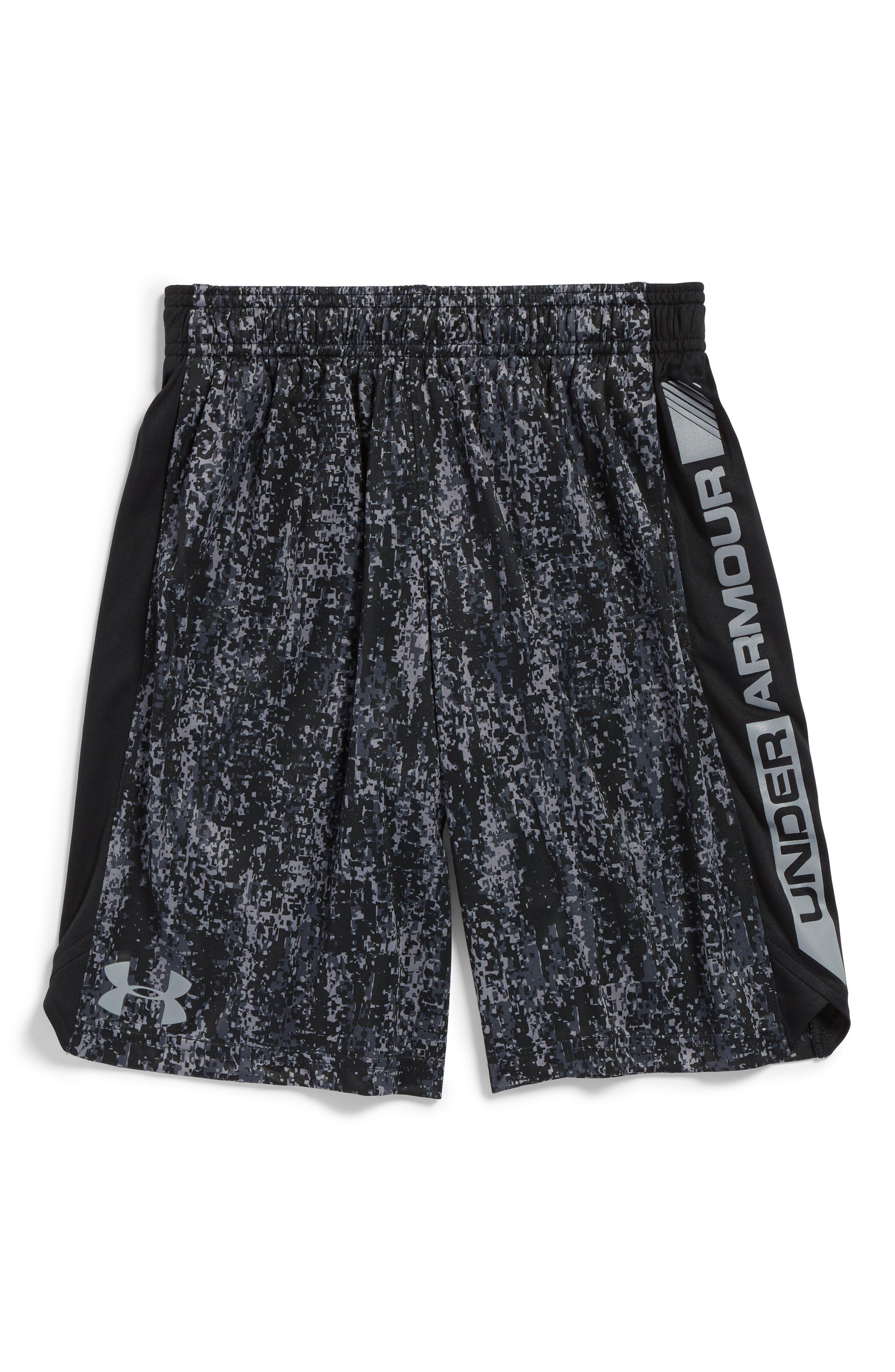 Alternate Image 1 Selected - Under Armour Eliminator Athletic HeatGear® Shorts (Little Boys & Big Boys)