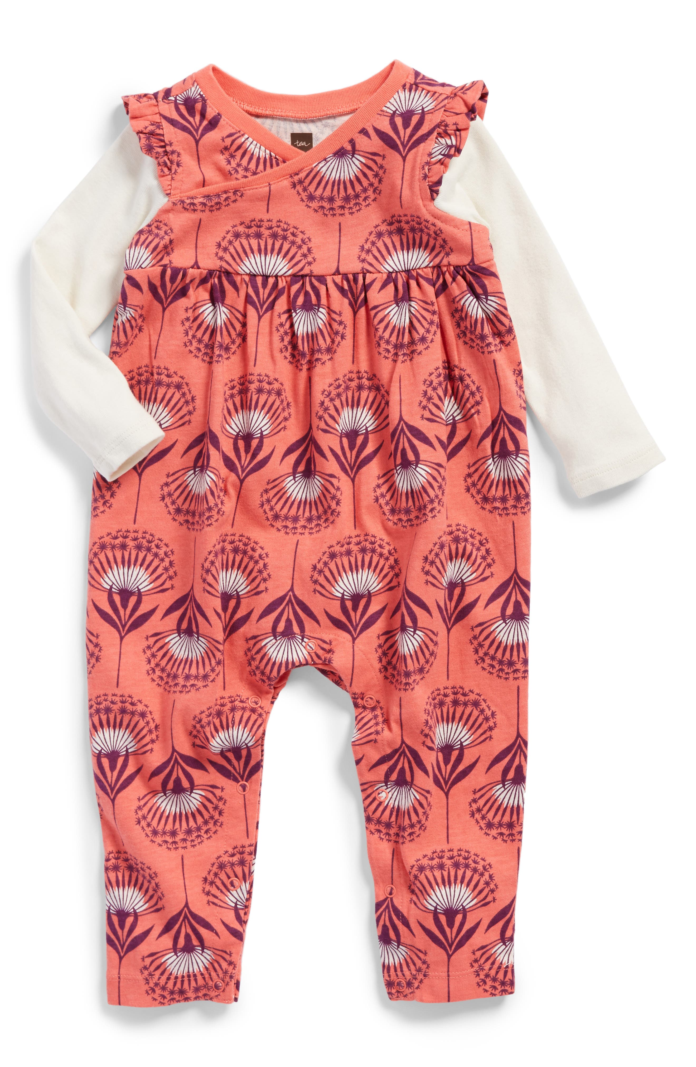 Tea Collection St. Kilda Romper (Baby Girls)
