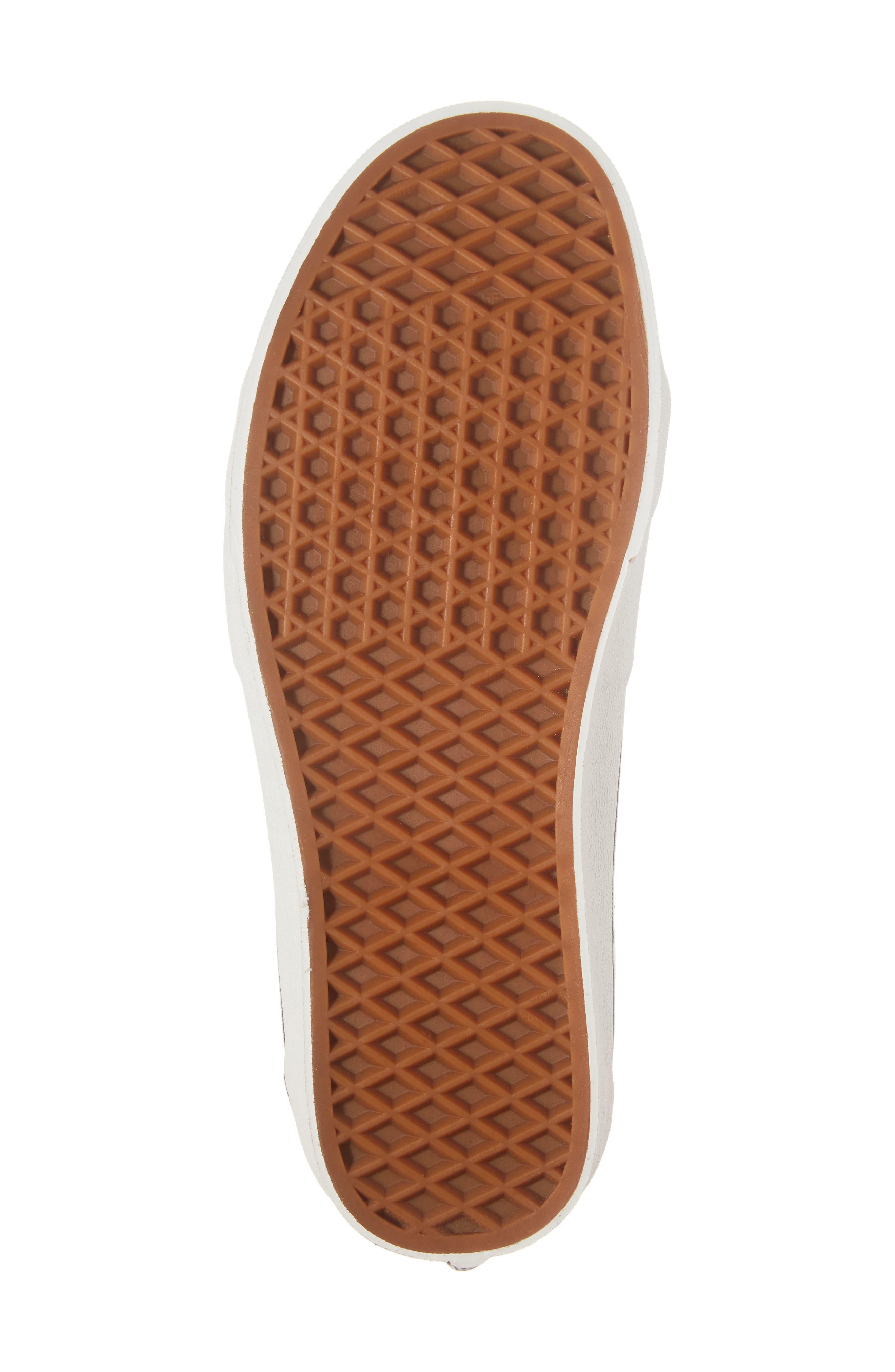 Sk8-Hi Sneaker,                             Alternate thumbnail 6, color,                             Rum Raisin/Marshmallow Leather